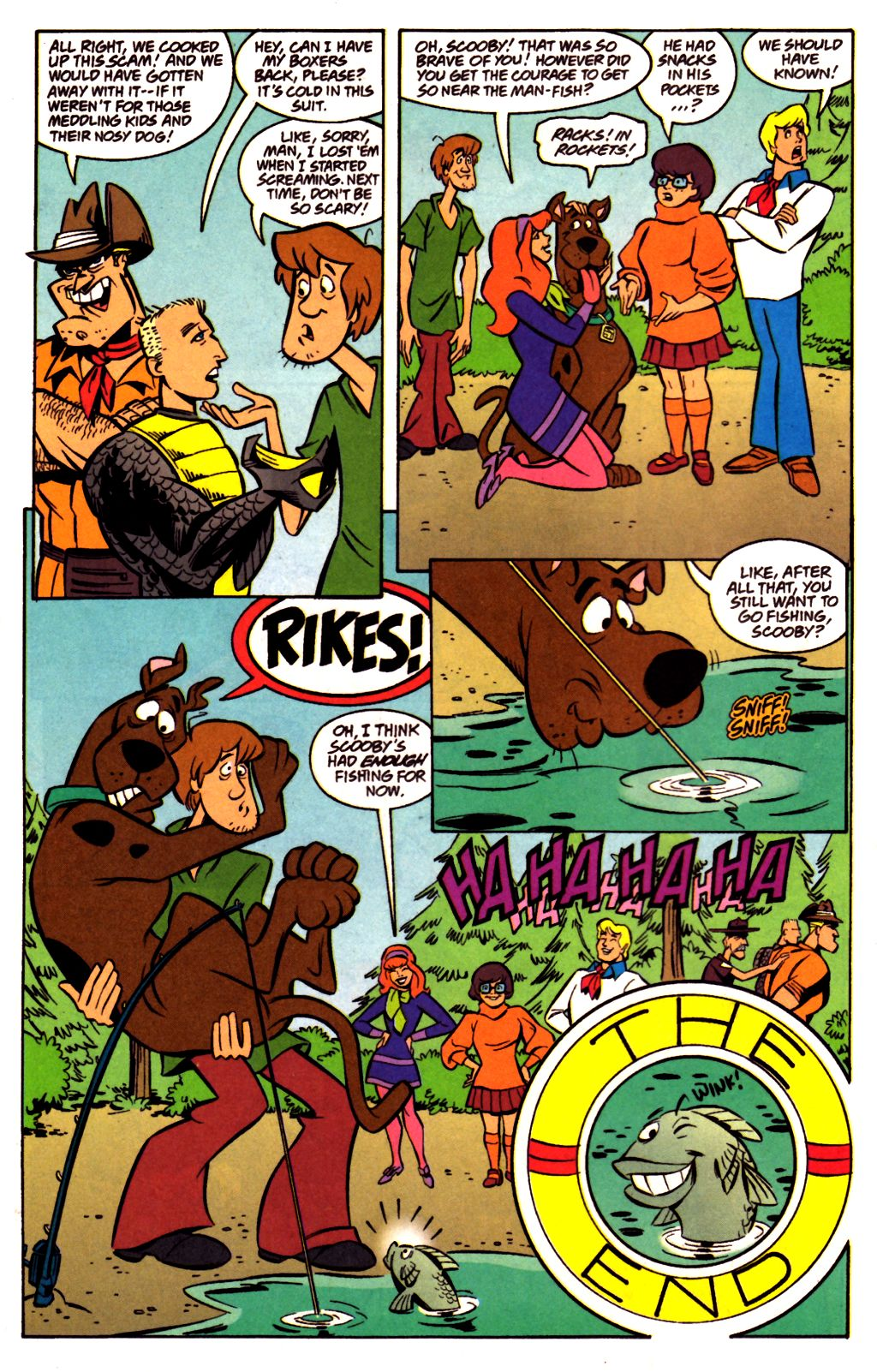Read online Scooby-Doo (1997) comic -  Issue #23 - 24