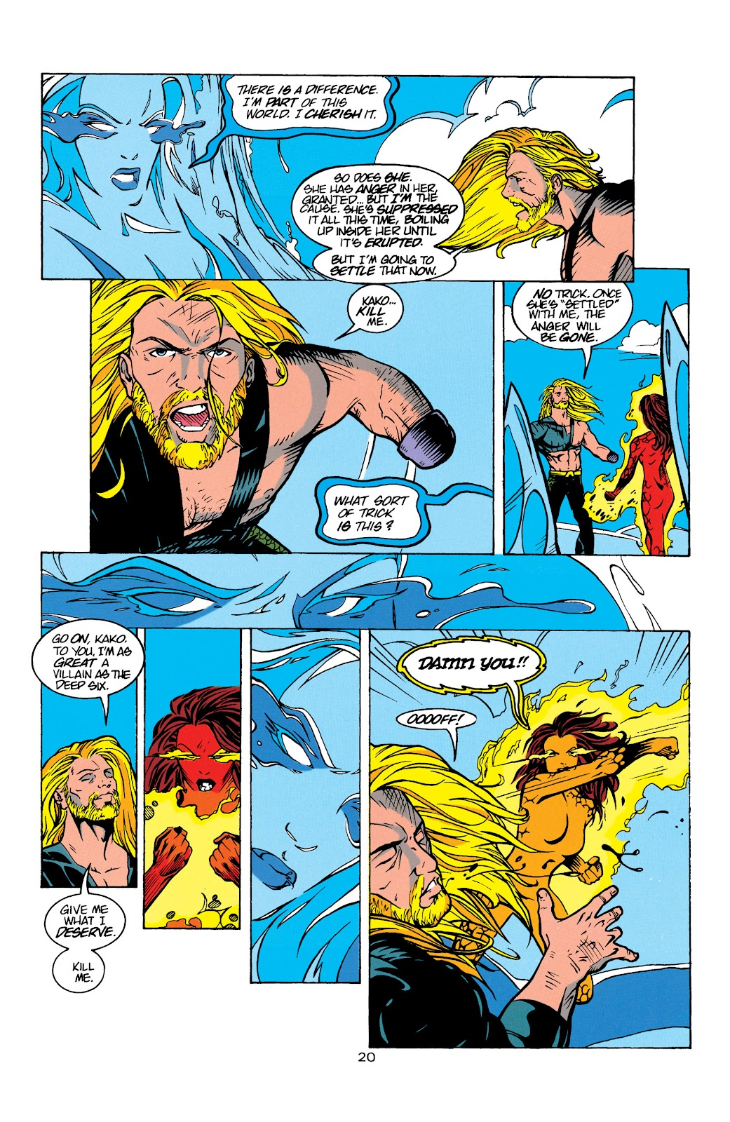 Aquaman (1994) Issue #8 #14 - English 21