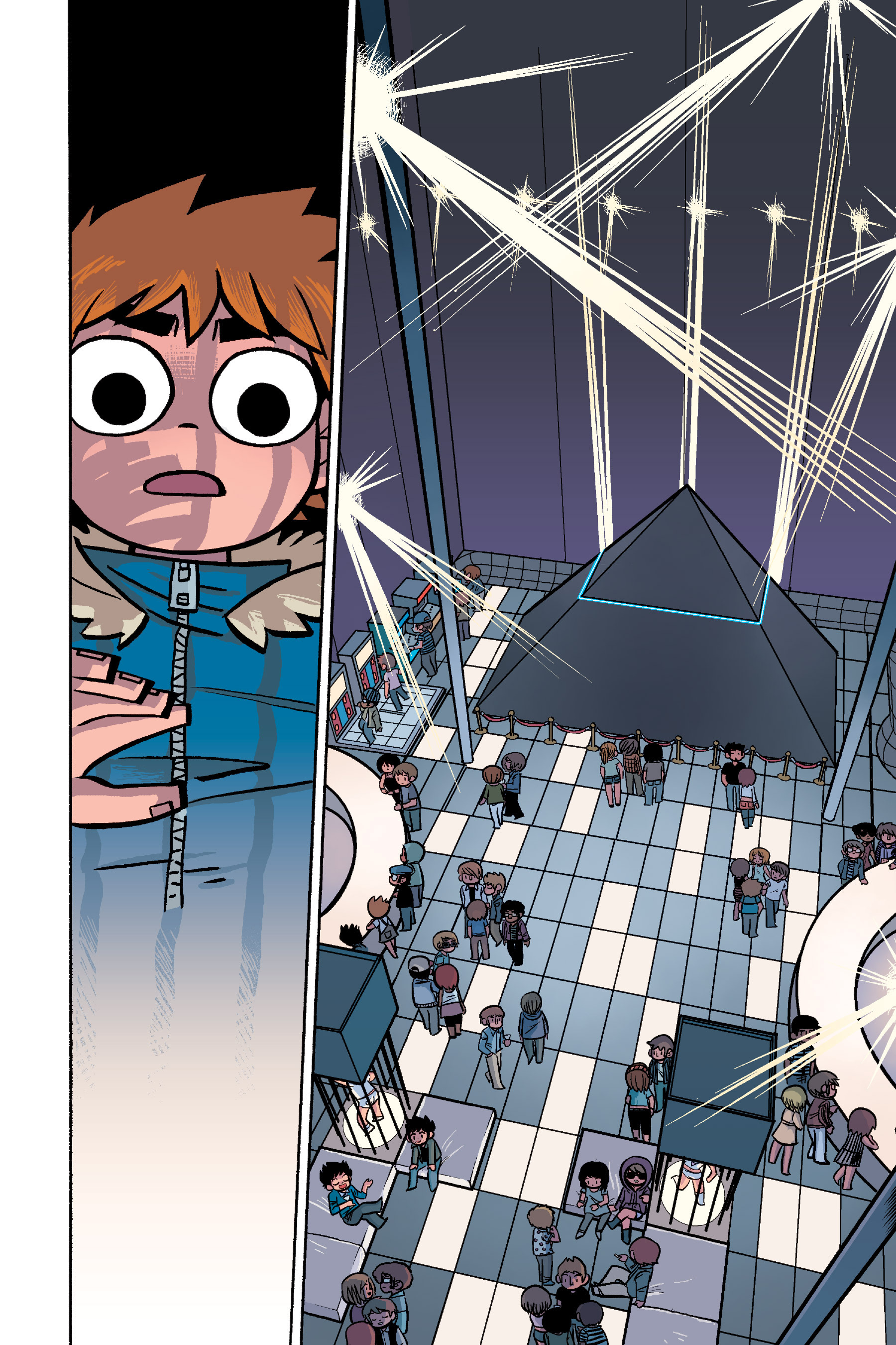 Read online Scott Pilgrim comic -  Issue #6 - 99