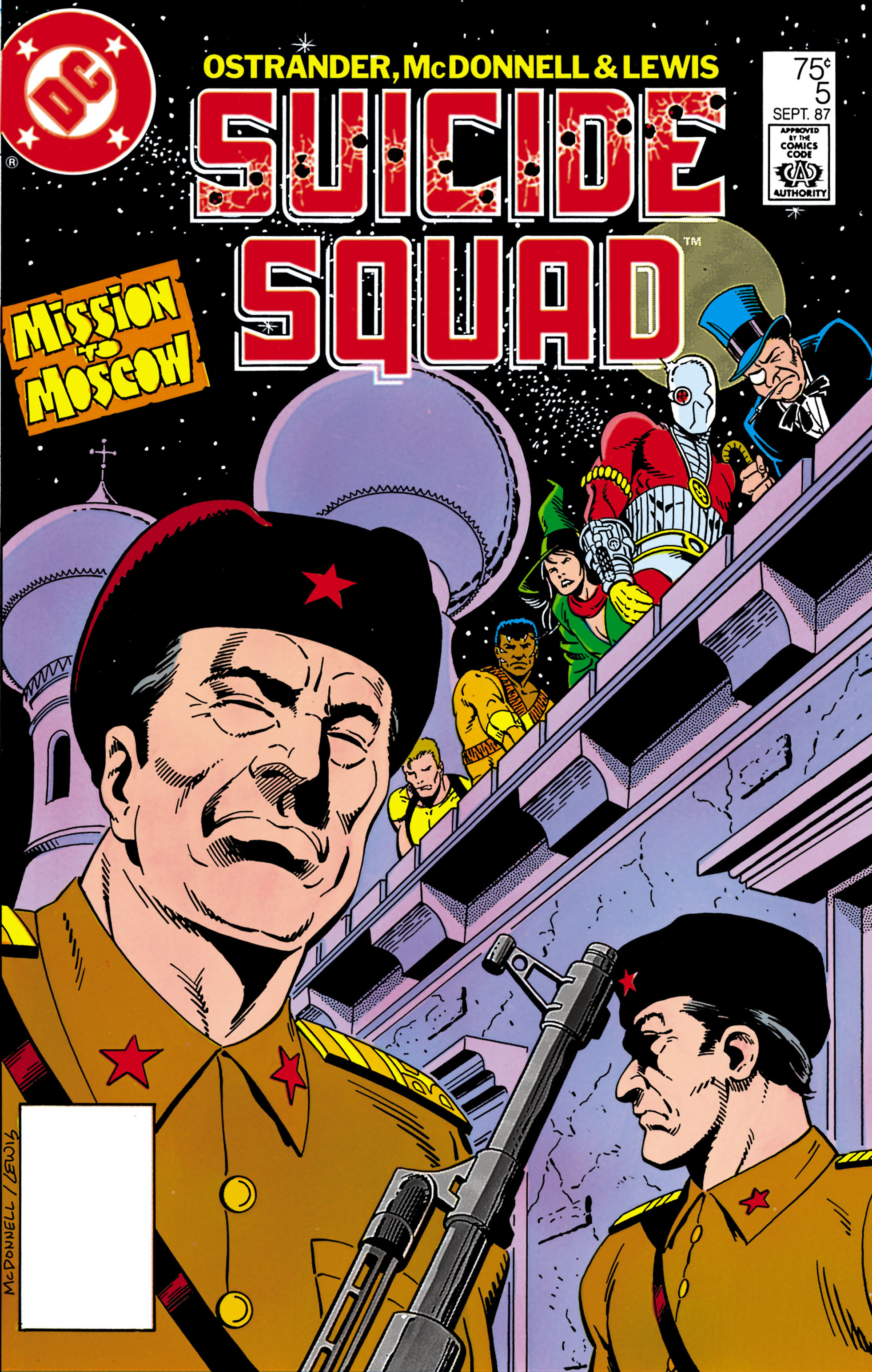 Suicide Squad (1987) issue 5 - Page 1