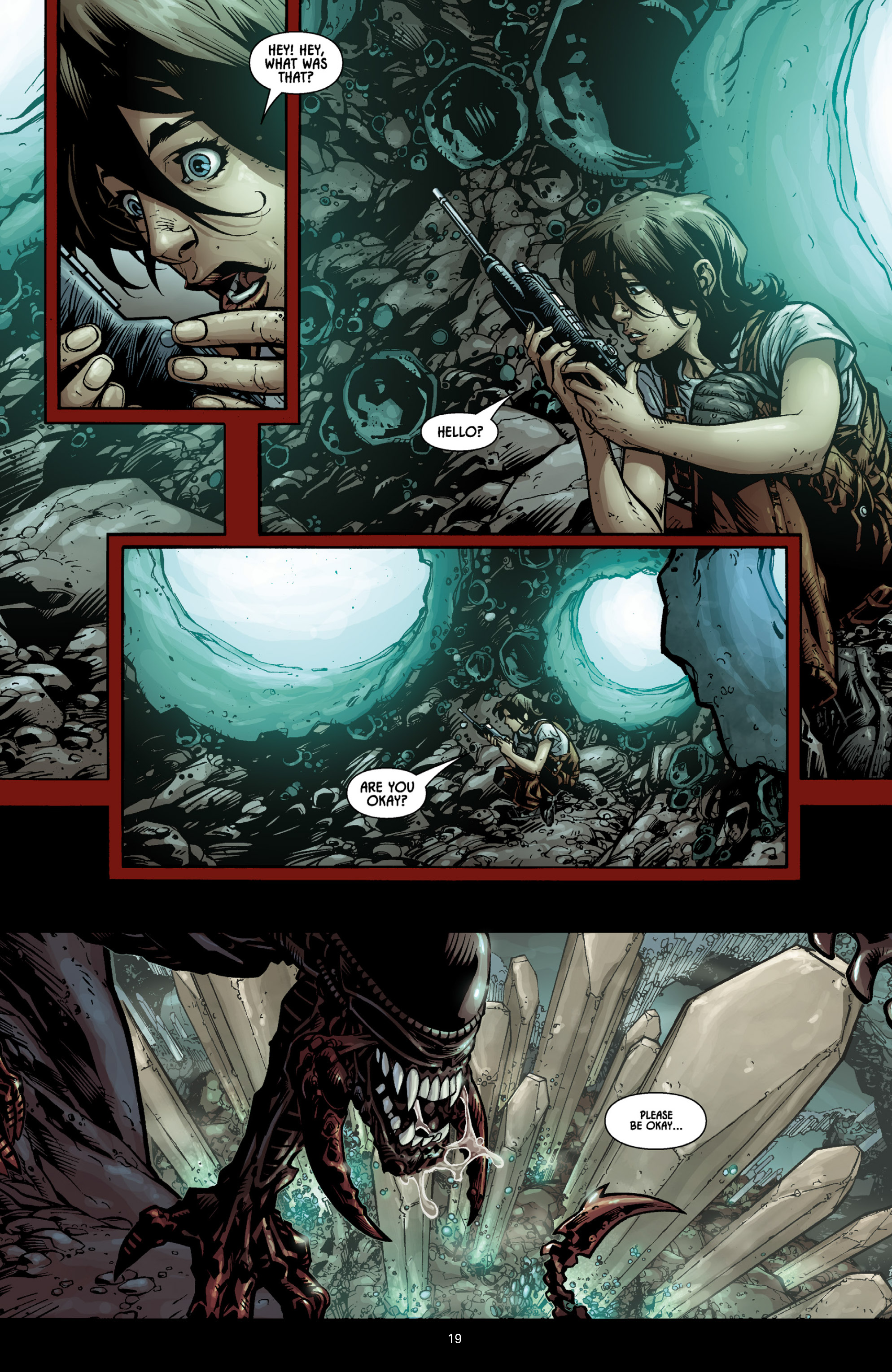 Aliens (2009) TPB Page 17