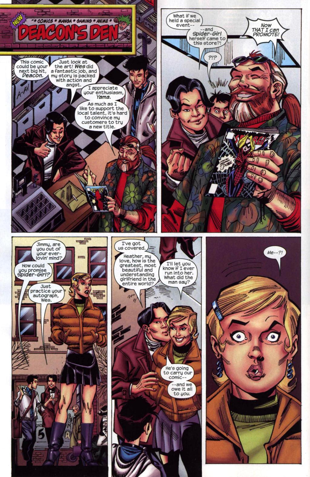 Amazing Spider-Girl Issue #4 #5 - English 12