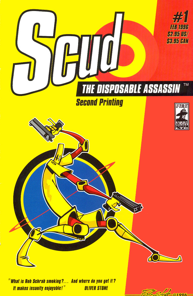 Read online Scud: The Disposable Assassin (1994) comic -  Issue #1 - 2