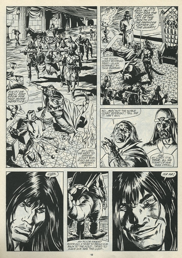 The Savage Sword Of Conan Issue #185 #186 - English 14