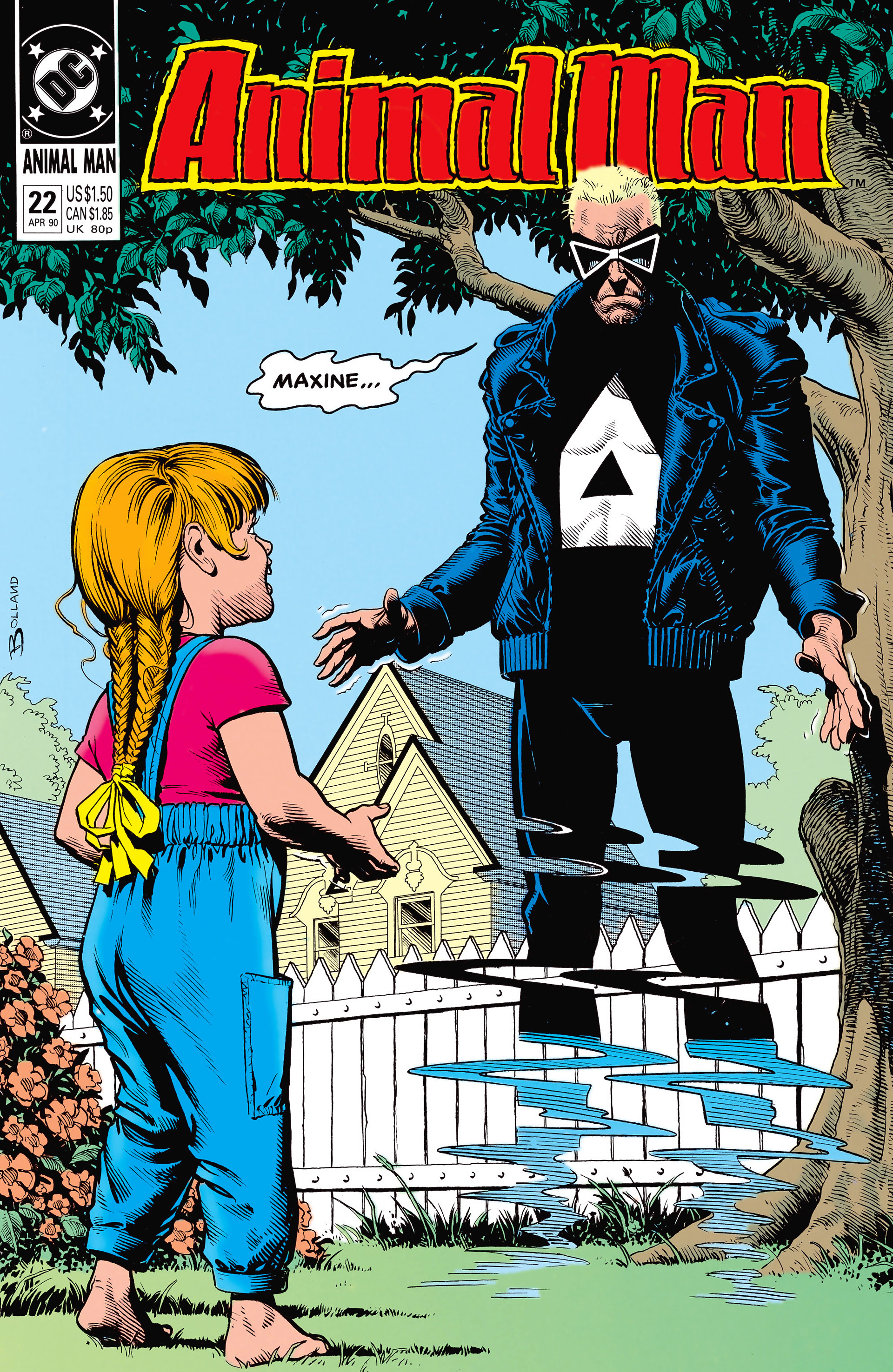 Animal Man issue 22 - Page 1