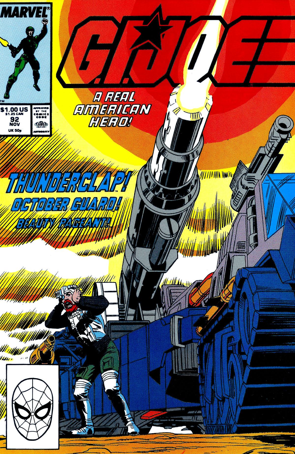 G.I. Joe: A Real American Hero 92 Page 1
