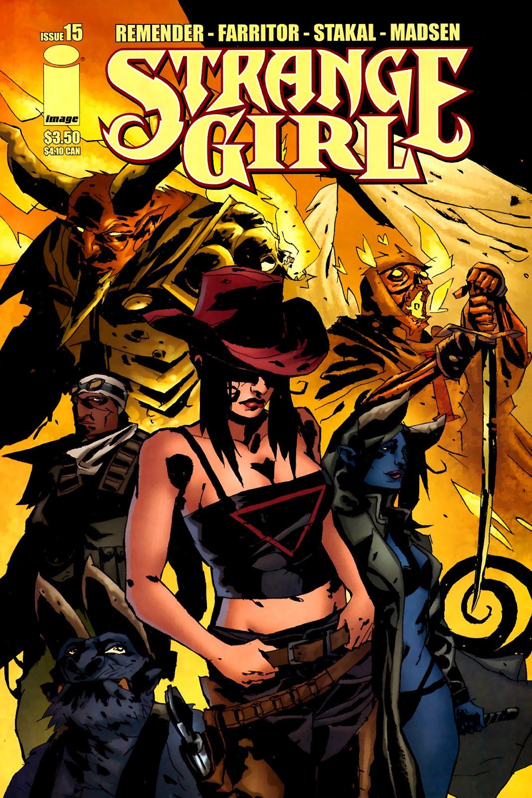 Strange Girl Issue #15 #16 - English 1