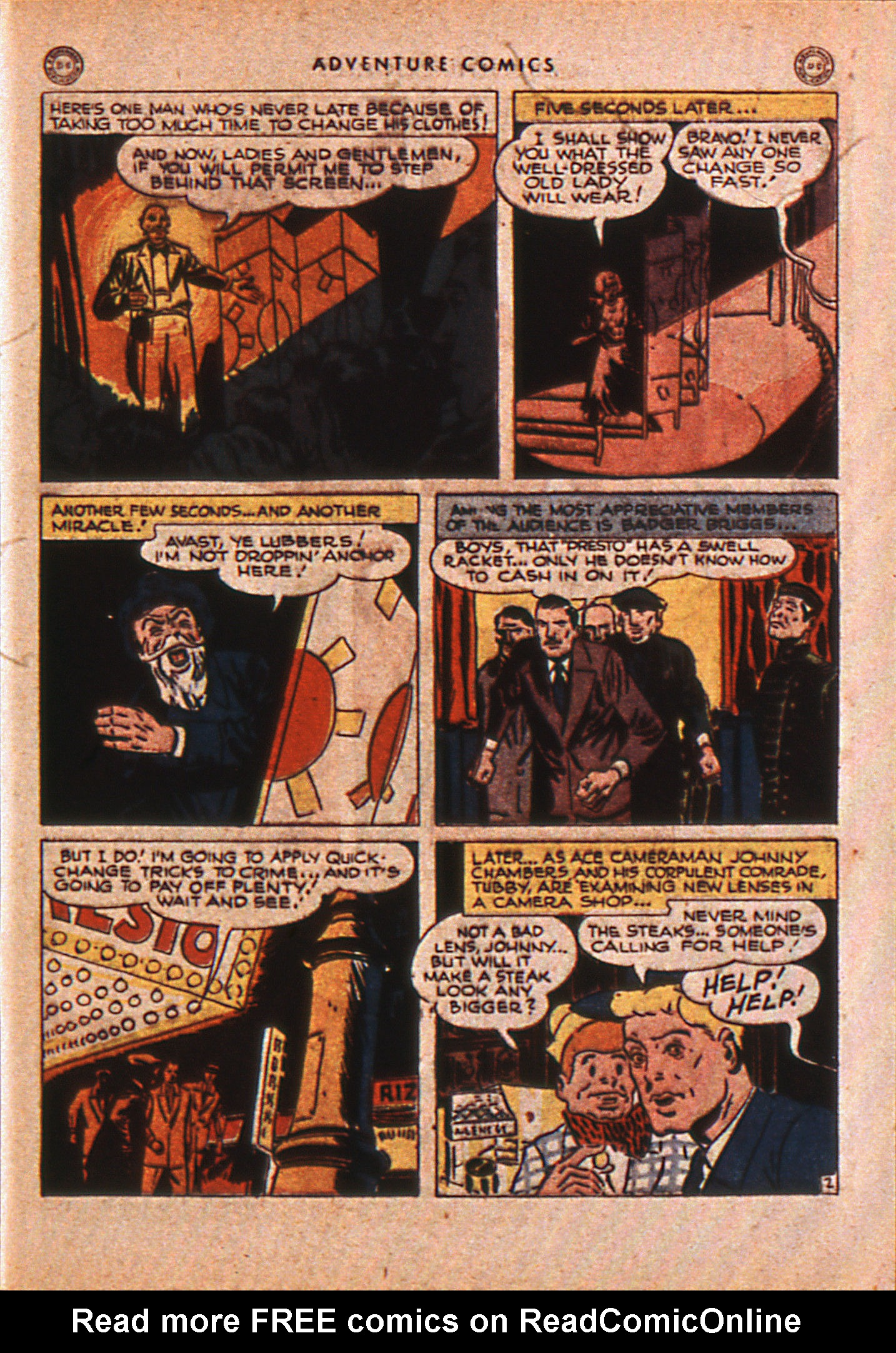 Read online Adventure Comics (1938) comic -  Issue #110 - 42