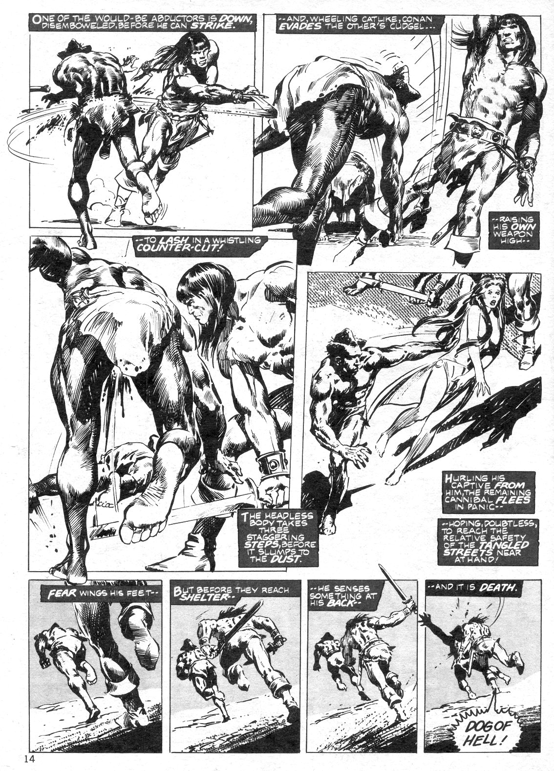 The Savage Sword Of Conan Issue #14 #15 - English 14