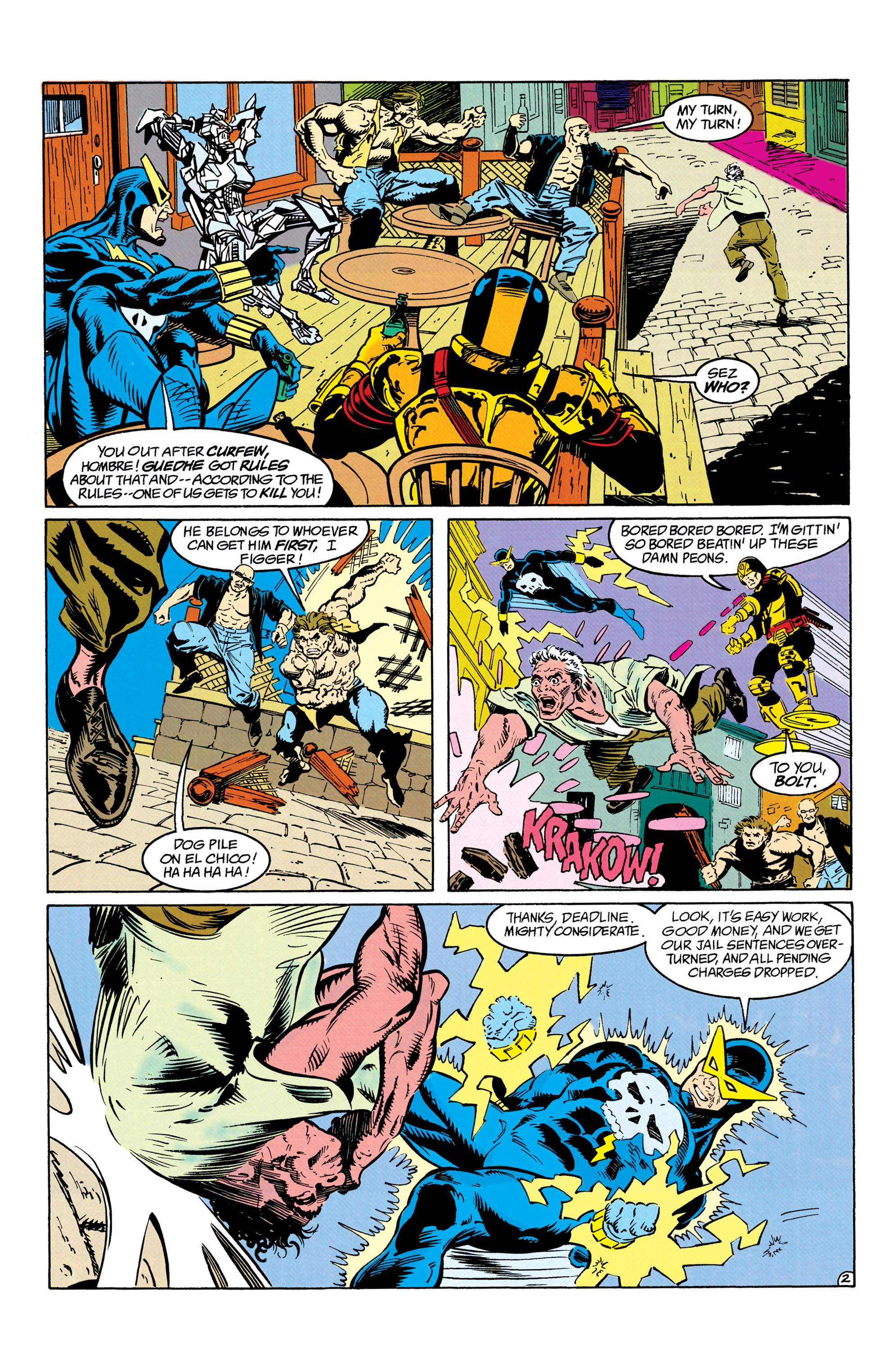 Read online Suicide Squad (1987) comic -  Issue #63 - 3
