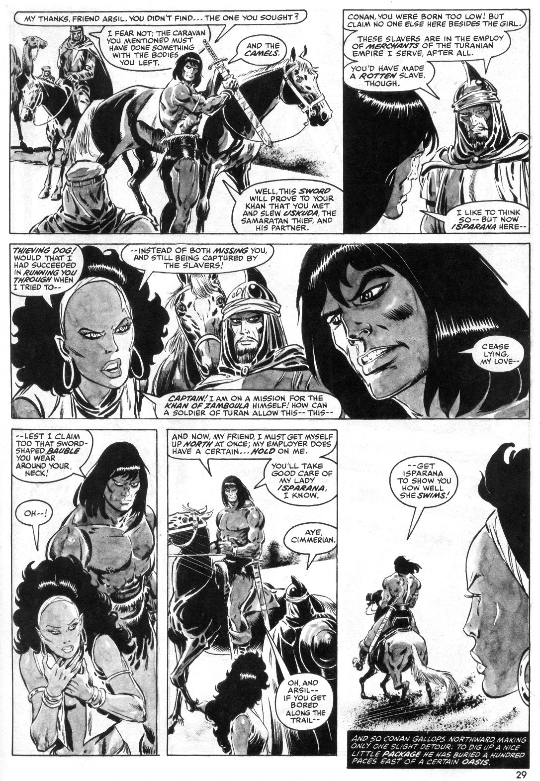 The Savage Sword Of Conan Issue #55 #56 - English 29