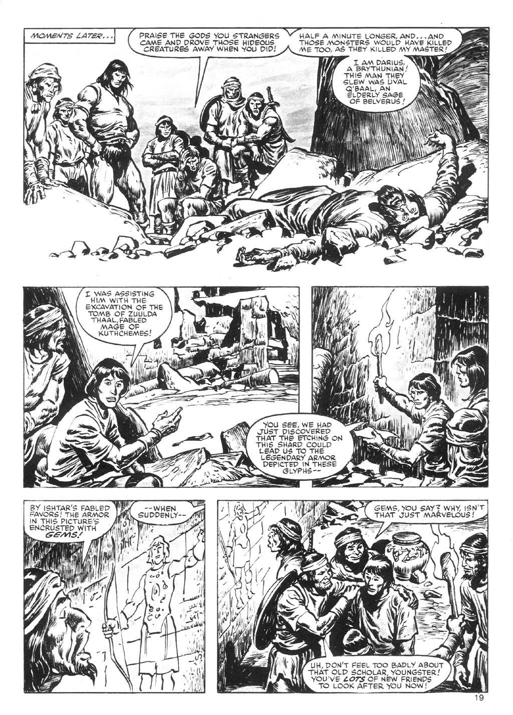 The Savage Sword Of Conan Issue #87 #88 - English 19