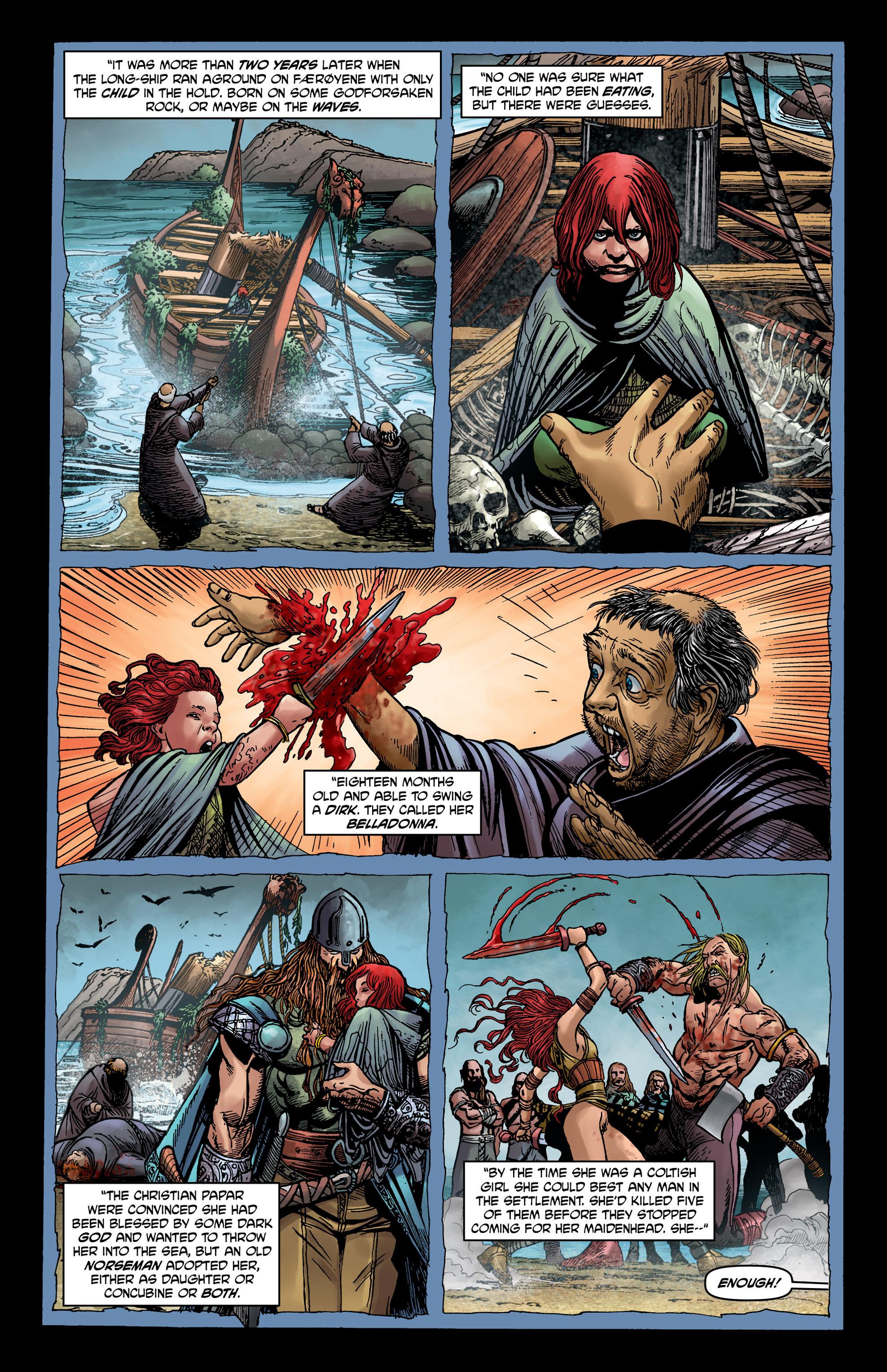 Read online Belladonna comic -  Issue #0 - 14
