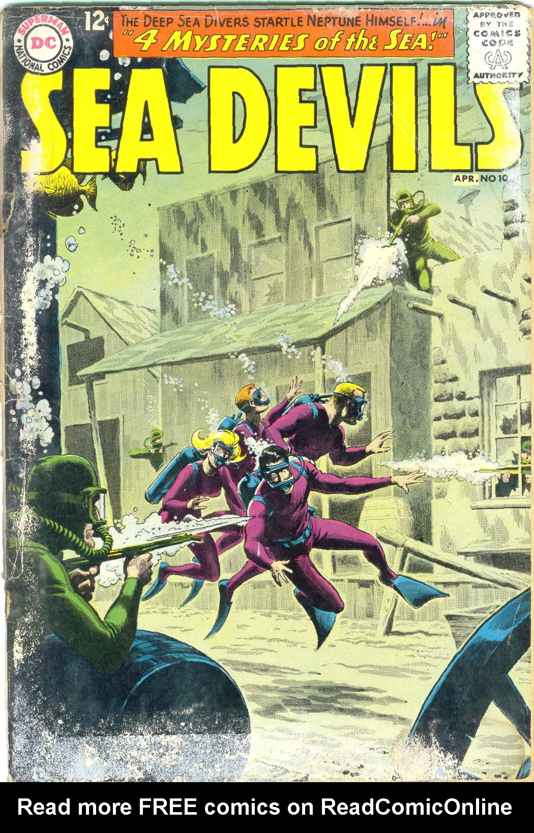 Read online Sea Devils comic -  Issue #10 - 2