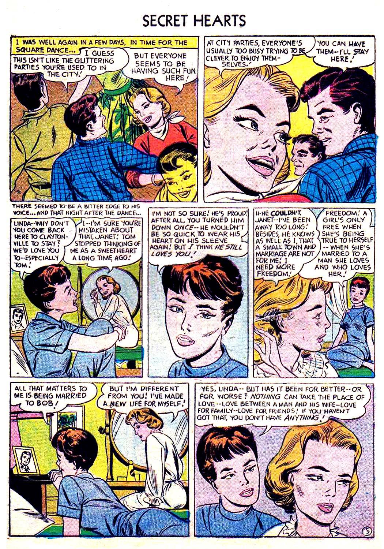 Read online Secret Hearts comic -  Issue #41 - 21