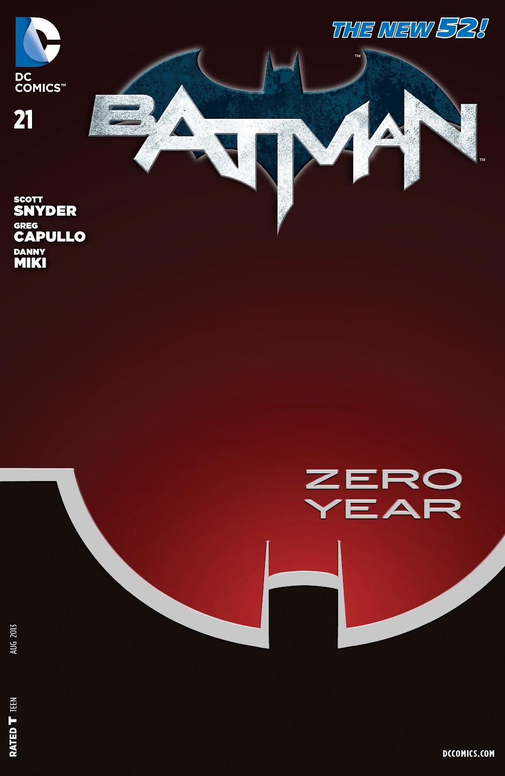 Batman (2011) Issue #21 #36 - English 30