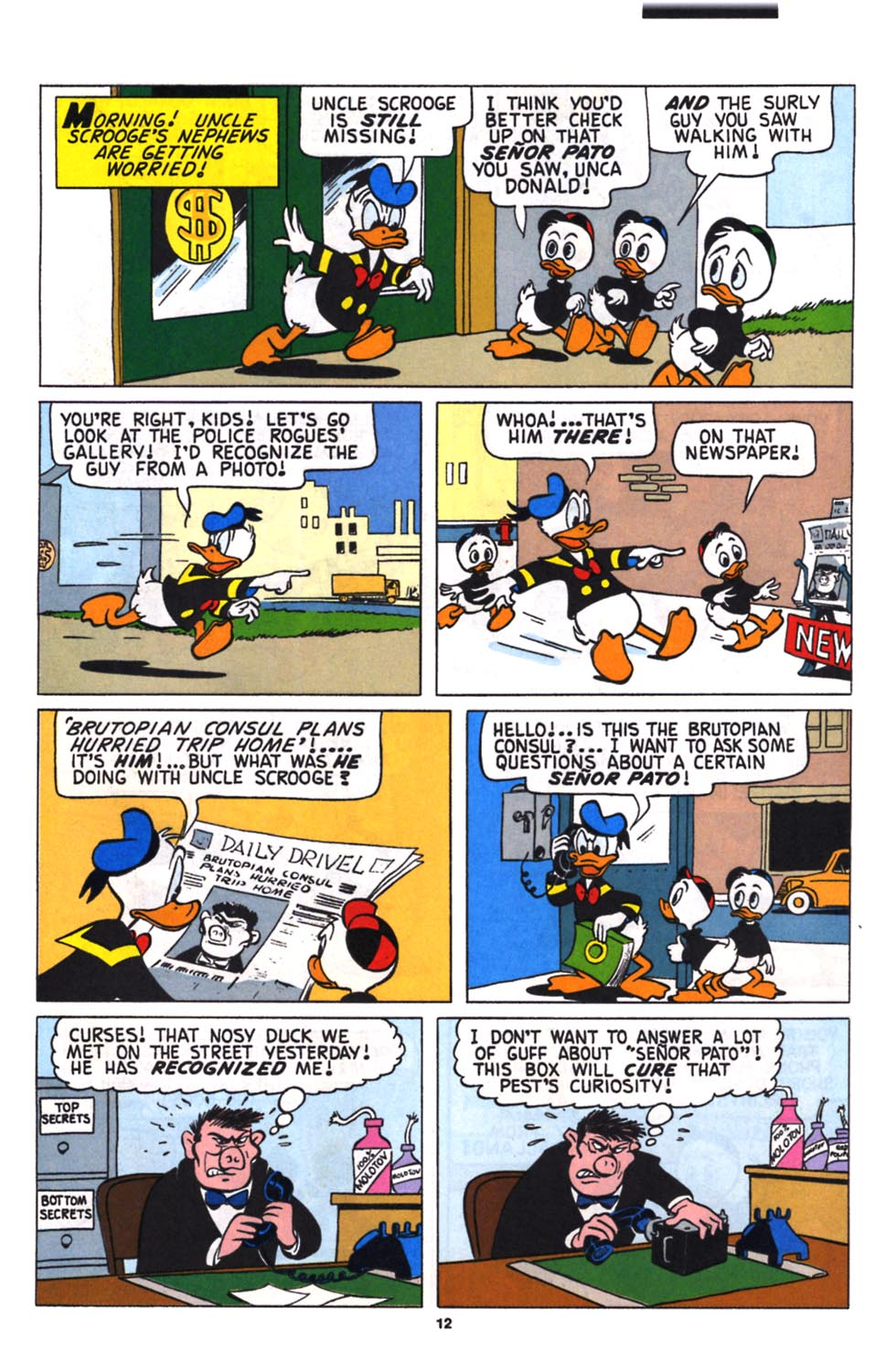 Uncle Scrooge (1953) Issue #258 #258 - English 13