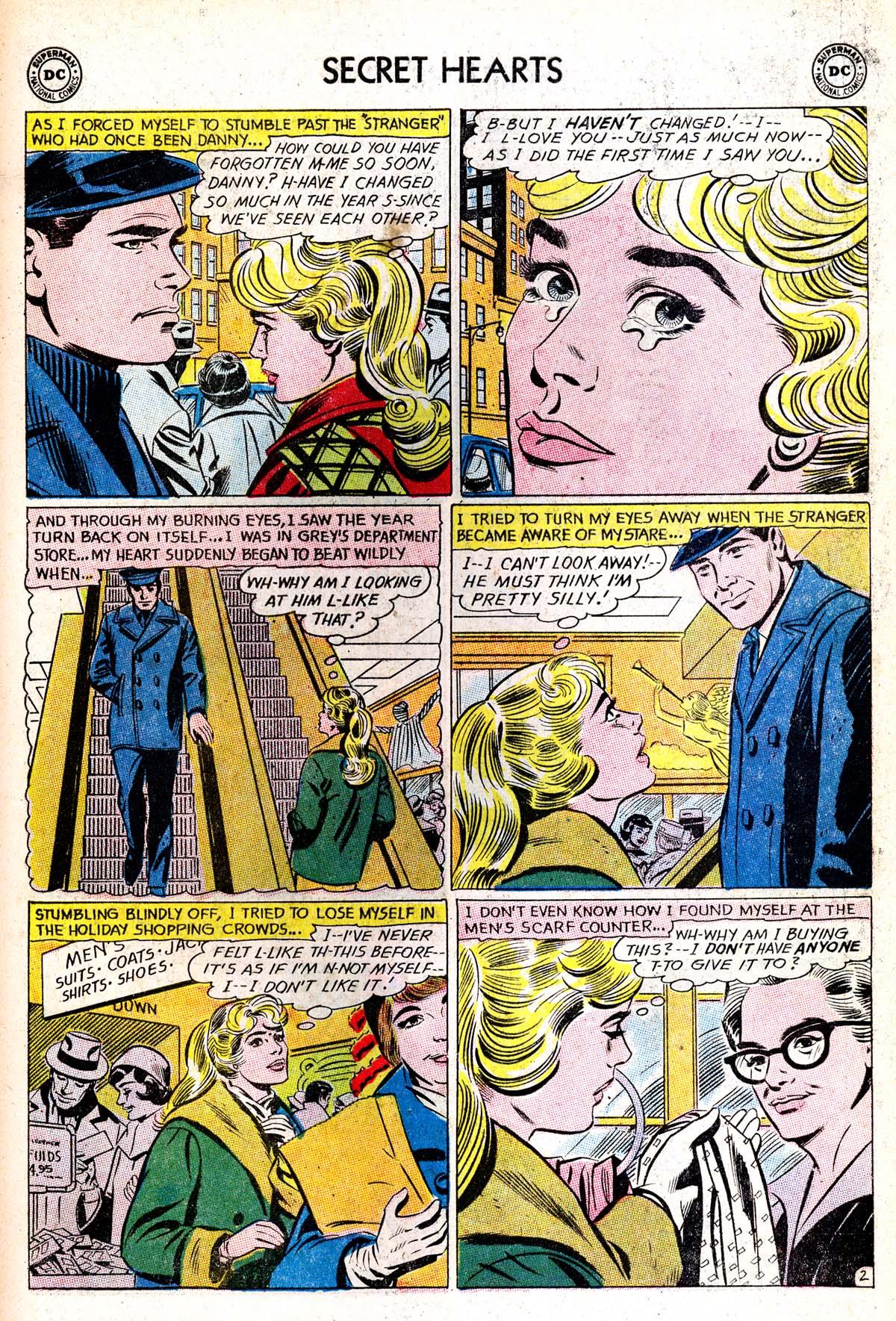 Read online Secret Hearts comic -  Issue #85 - 19