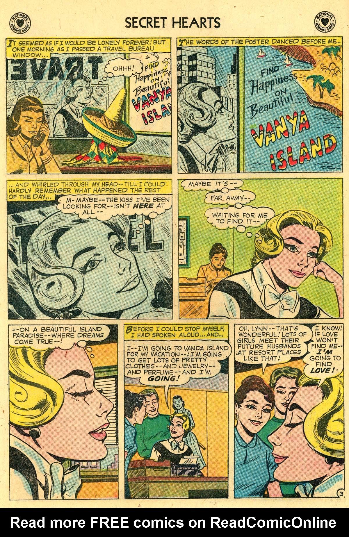 Read online Secret Hearts comic -  Issue #57 - 12