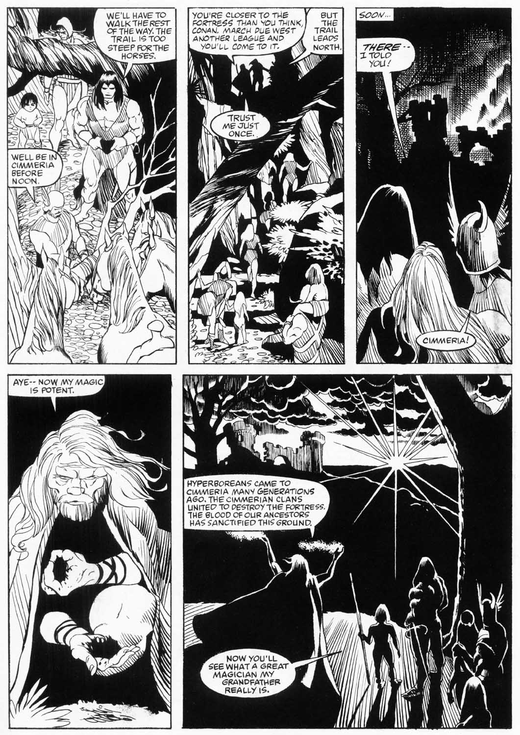 The Savage Sword Of Conan Issue #157 #158 - English 40