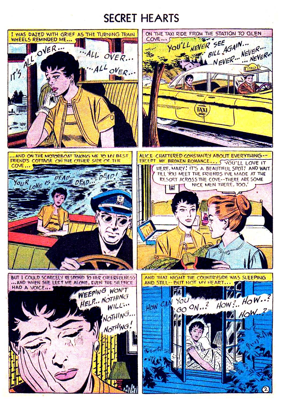 Read online Secret Hearts comic -  Issue #41 - 28