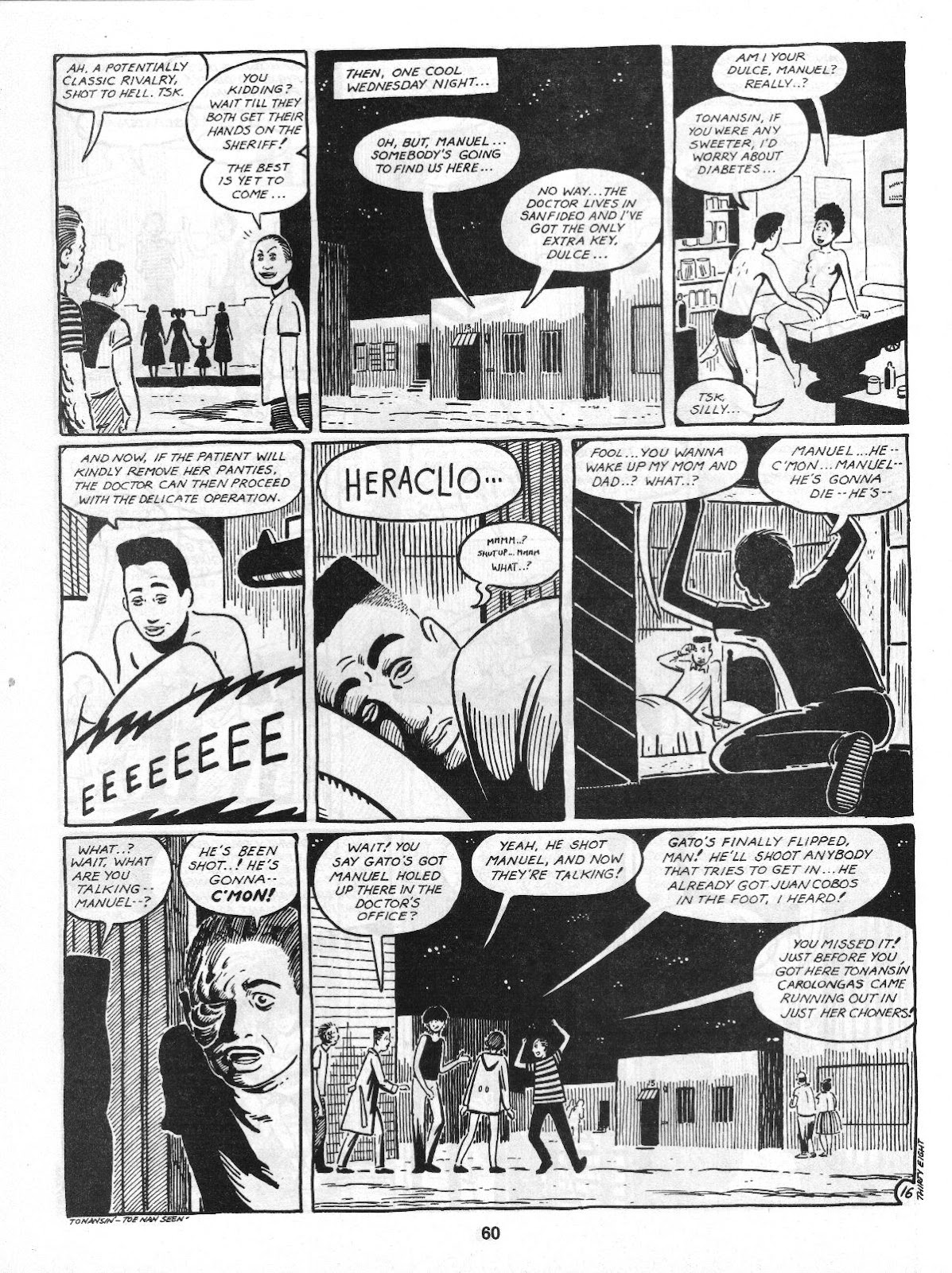 Love and Rockets (1982) Issue #4 #3 - English 62