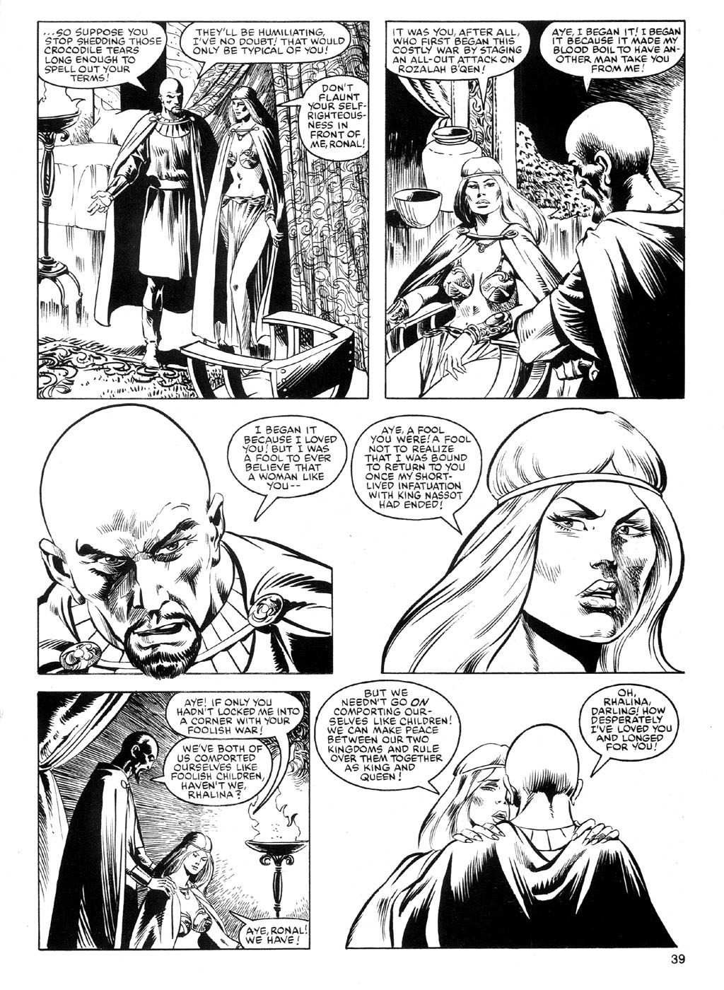 The Savage Sword Of Conan Issue #91 #92 - English 38