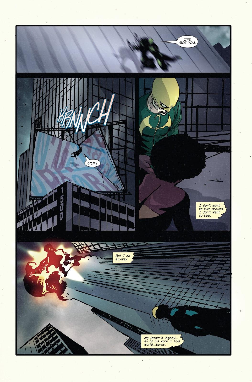 The Immortal Iron Fist Issue #27 #28 - English 20