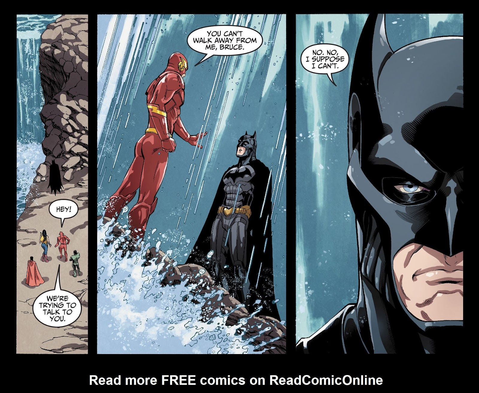 Injustice: Gods Among Us [I] Issue #29 #30 - English 10