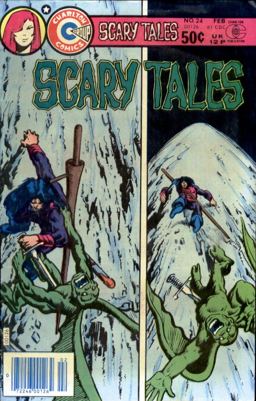 Read online Scary Tales comic -  Issue #24 - 1