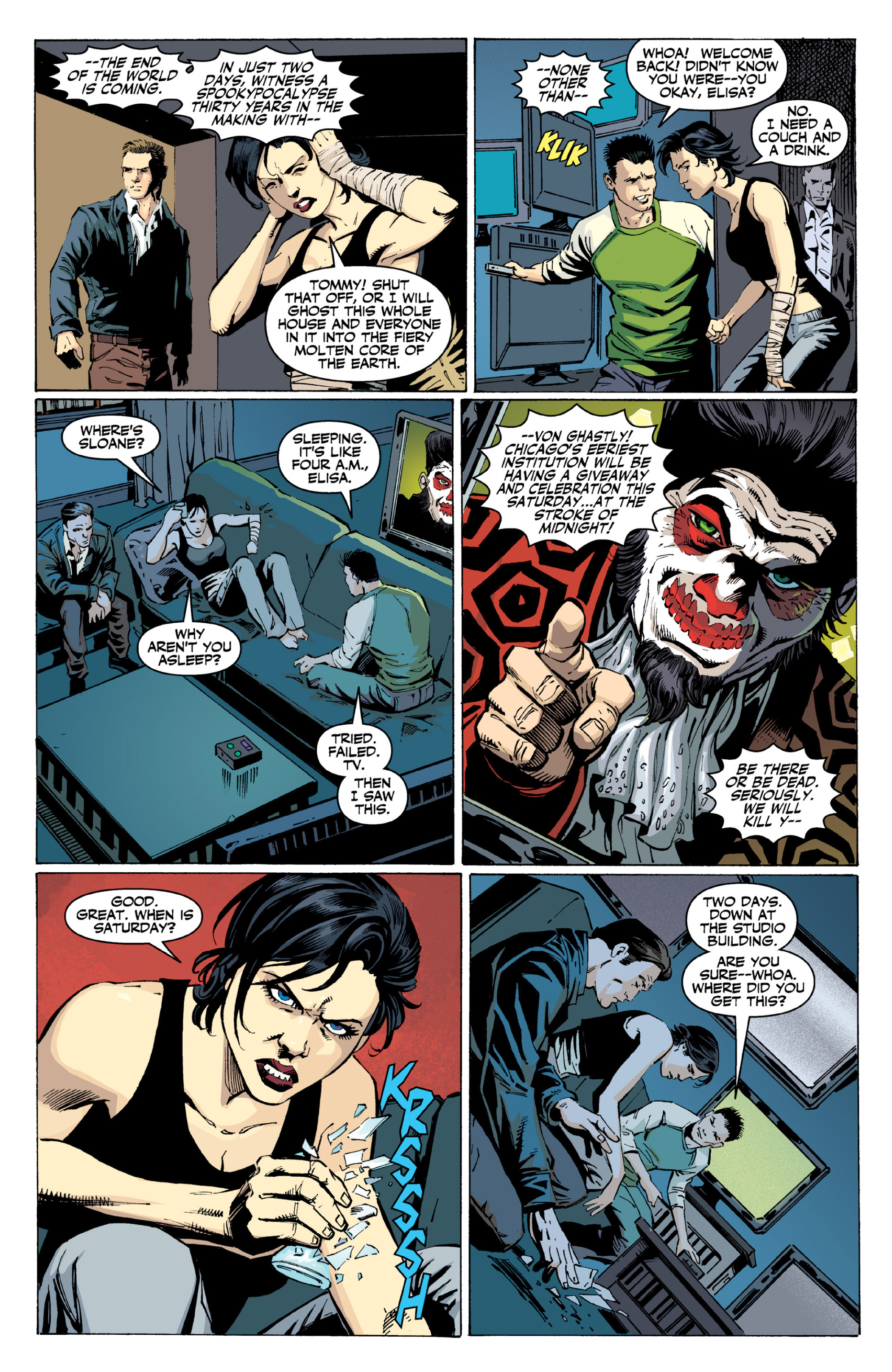 Read online Ghost (2013) comic -  Issue # TPB 2 - 63