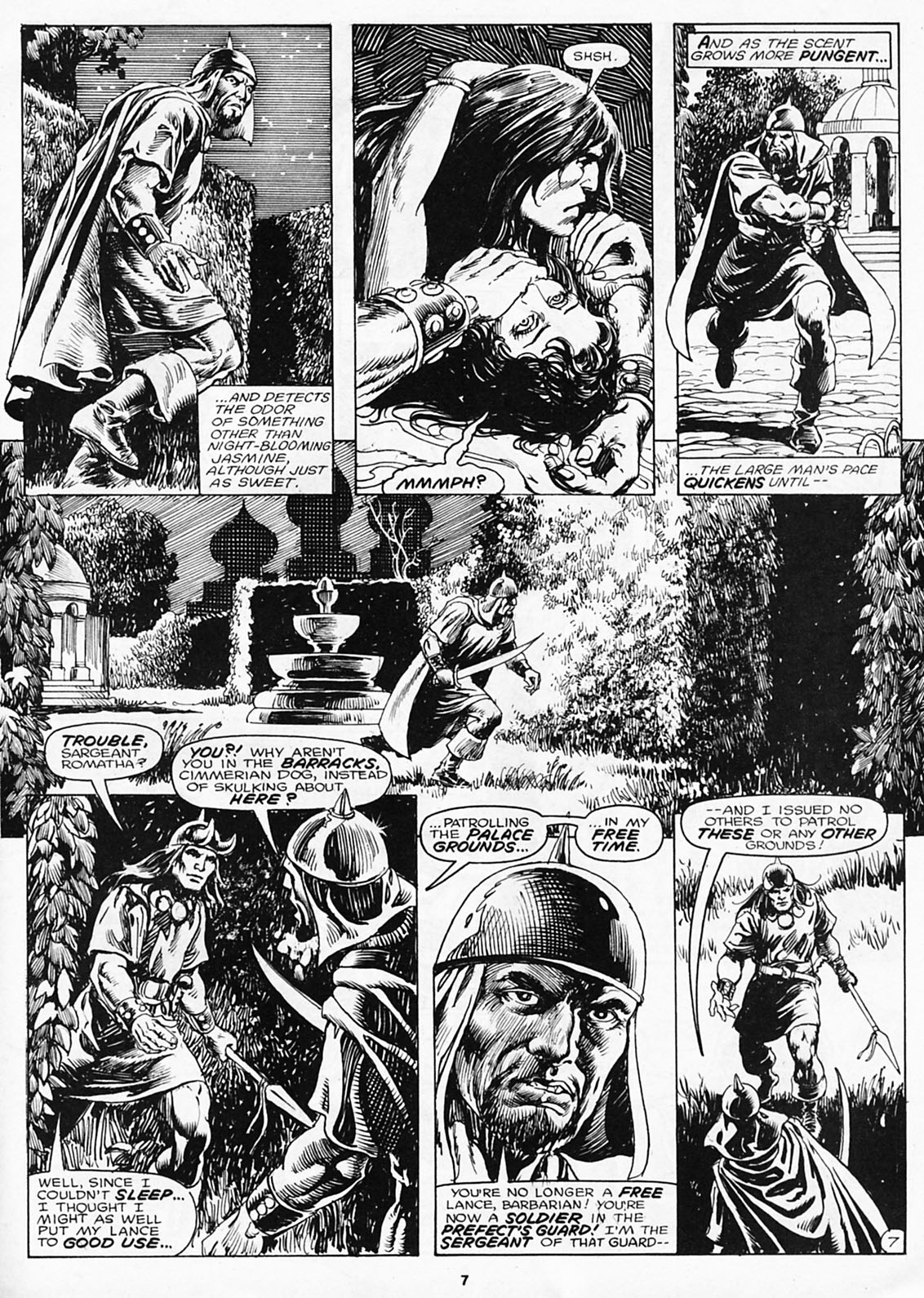 The Savage Sword Of Conan Issue #180 #181 - English 9