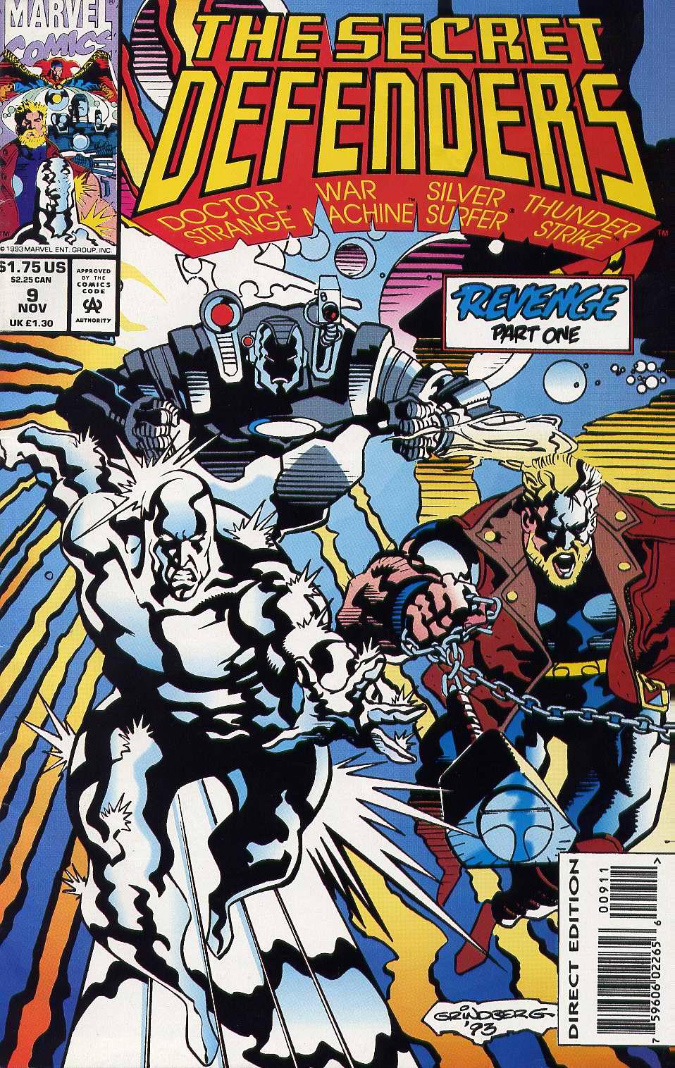 Read online Secret Defenders comic -  Issue #9 - 1
