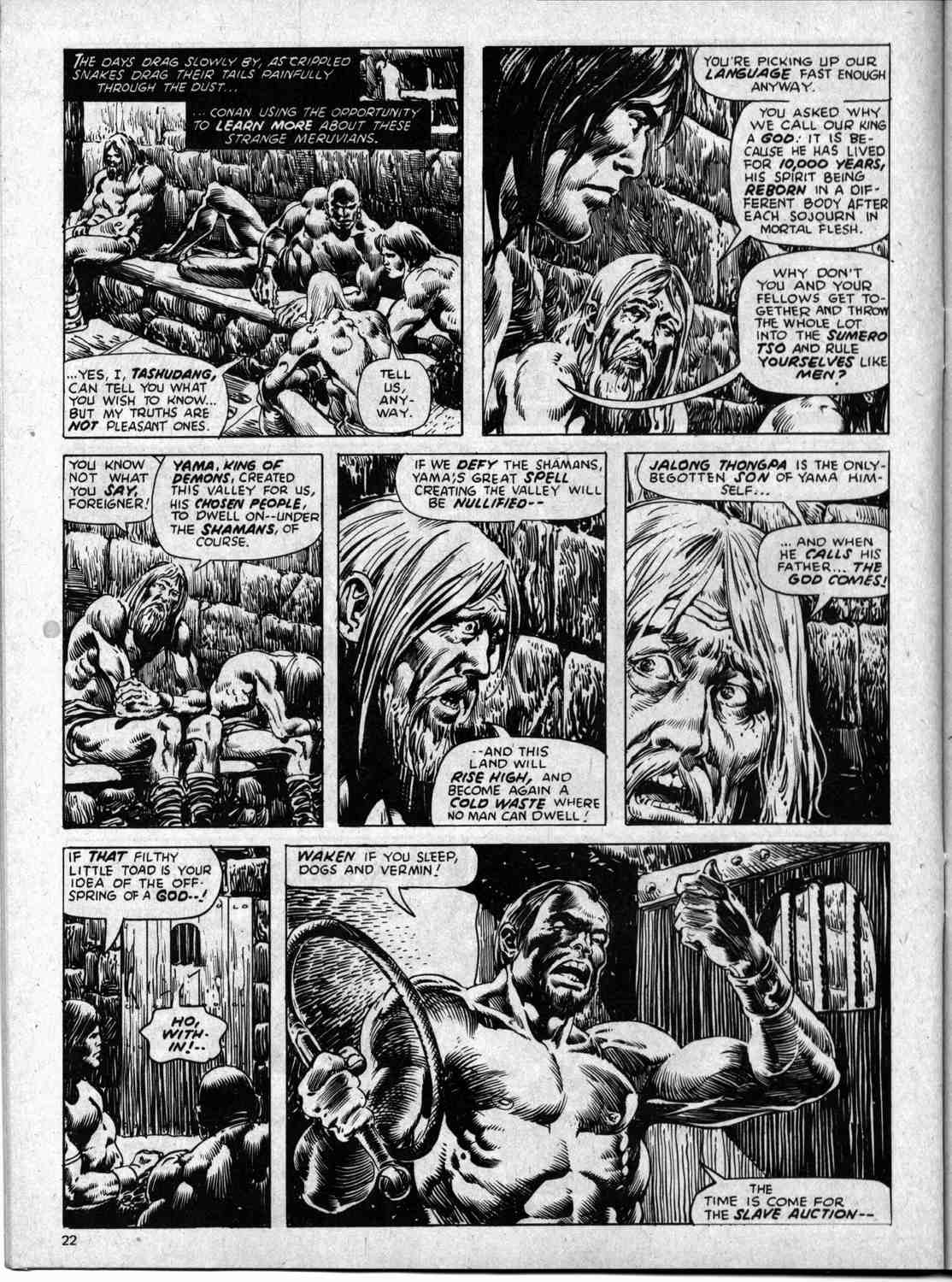 The Savage Sword Of Conan Issue #59 #60 - English 22