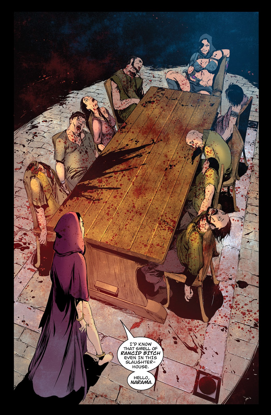 Queen of Vampires Issue #7 #7 - English 17