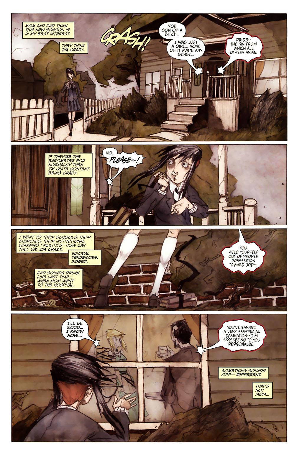 Girl 13 Page 6 #6 - English 3