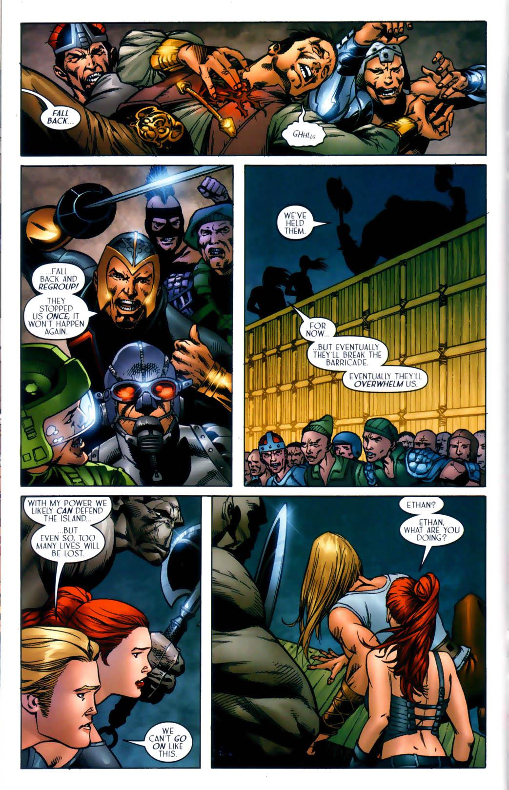 Read online Scion comic -  Issue #30 - 16