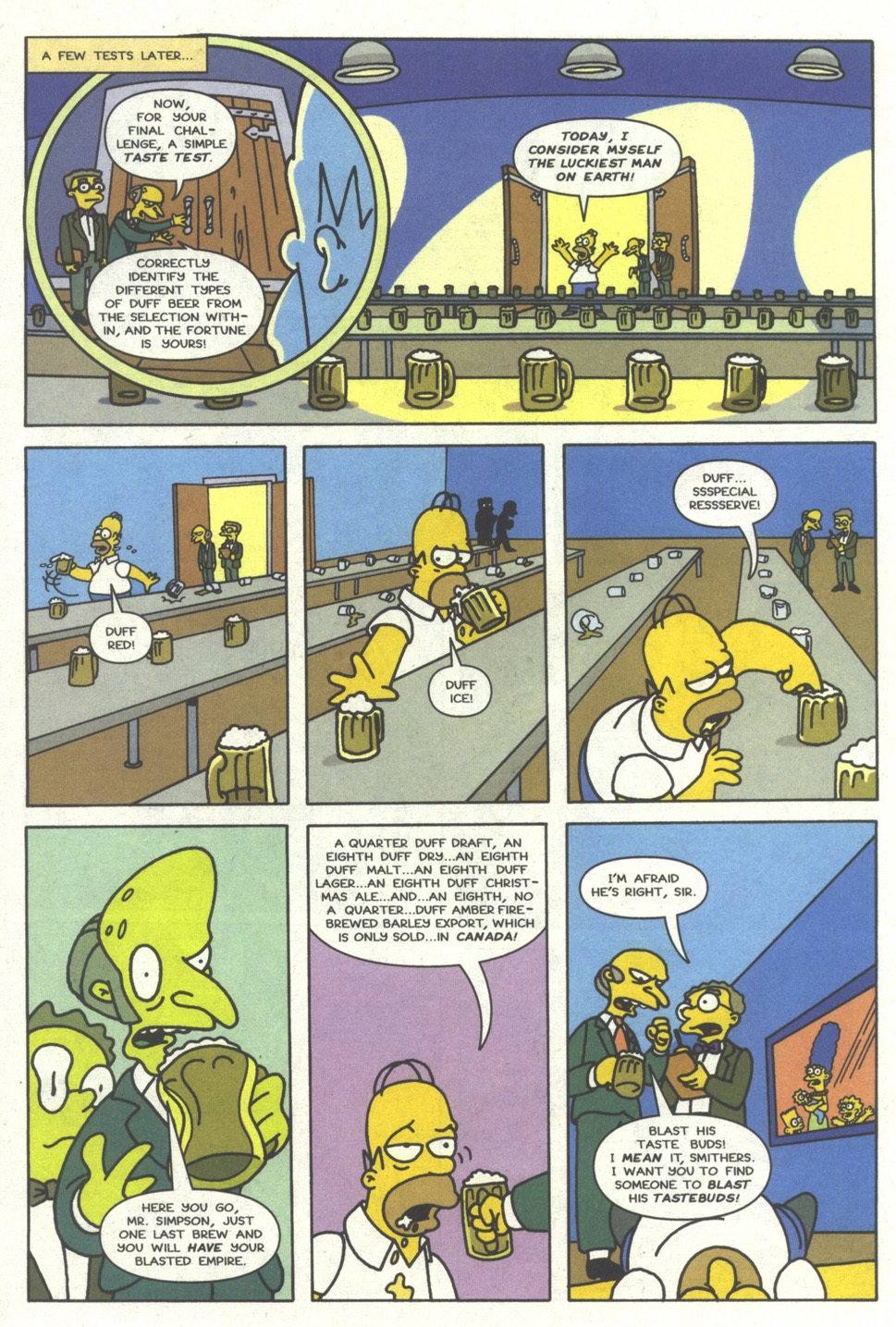 Read online Simpsons Comics comic -  Issue #14 - 15