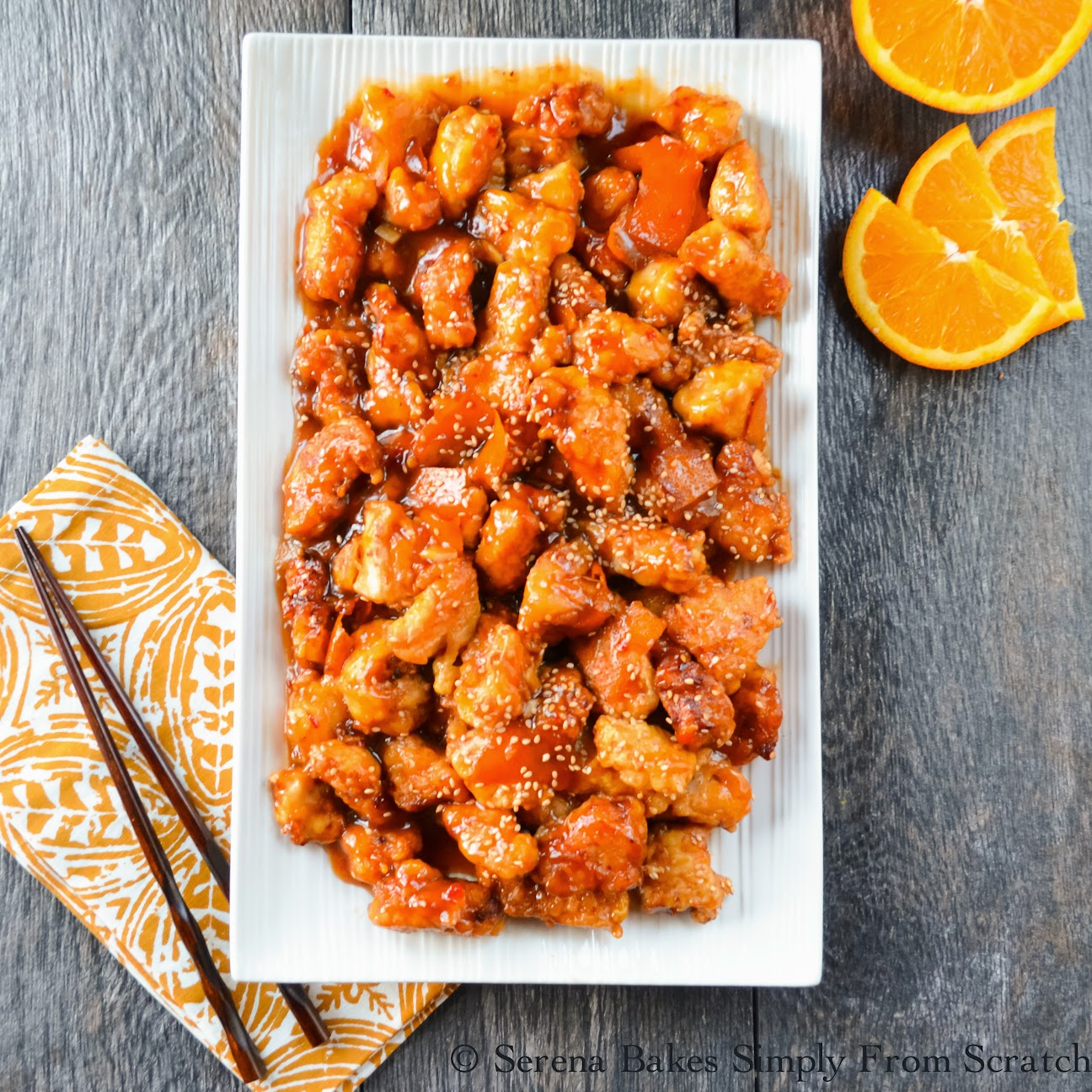Chinese orange peel chicken gluten free serena bakes simply from chinese orange peel chicken is so much more flavorful then what most restaurants serve you might not go out for chinese food again forumfinder Choice Image