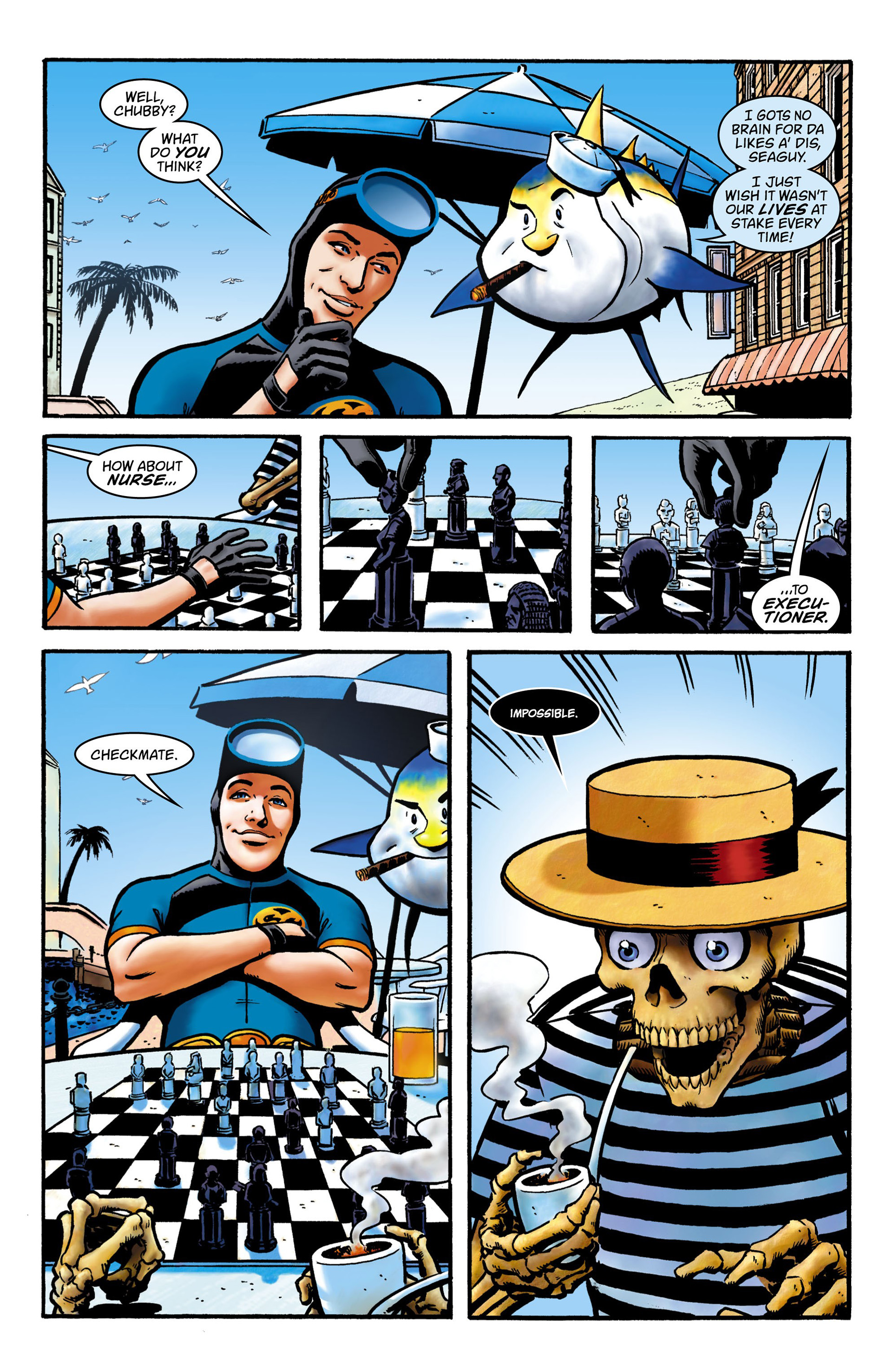 Read online Seaguy comic -  Issue #1 - 3
