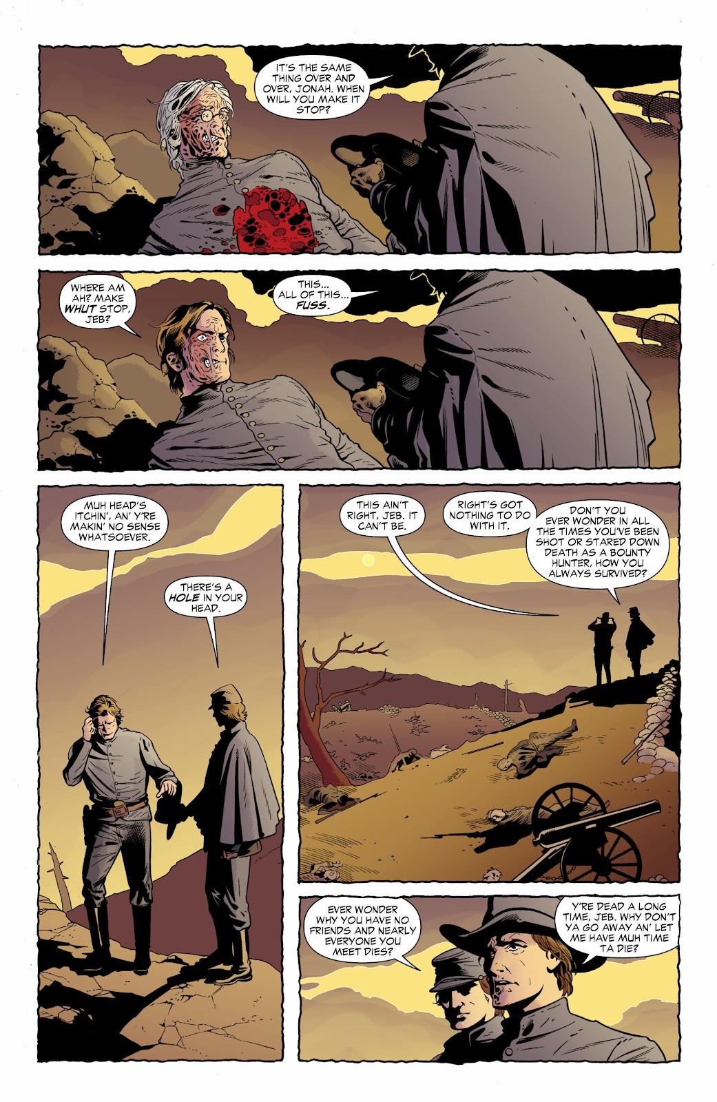 Jonah Hex (2006) Issue #70 #70 - English 5