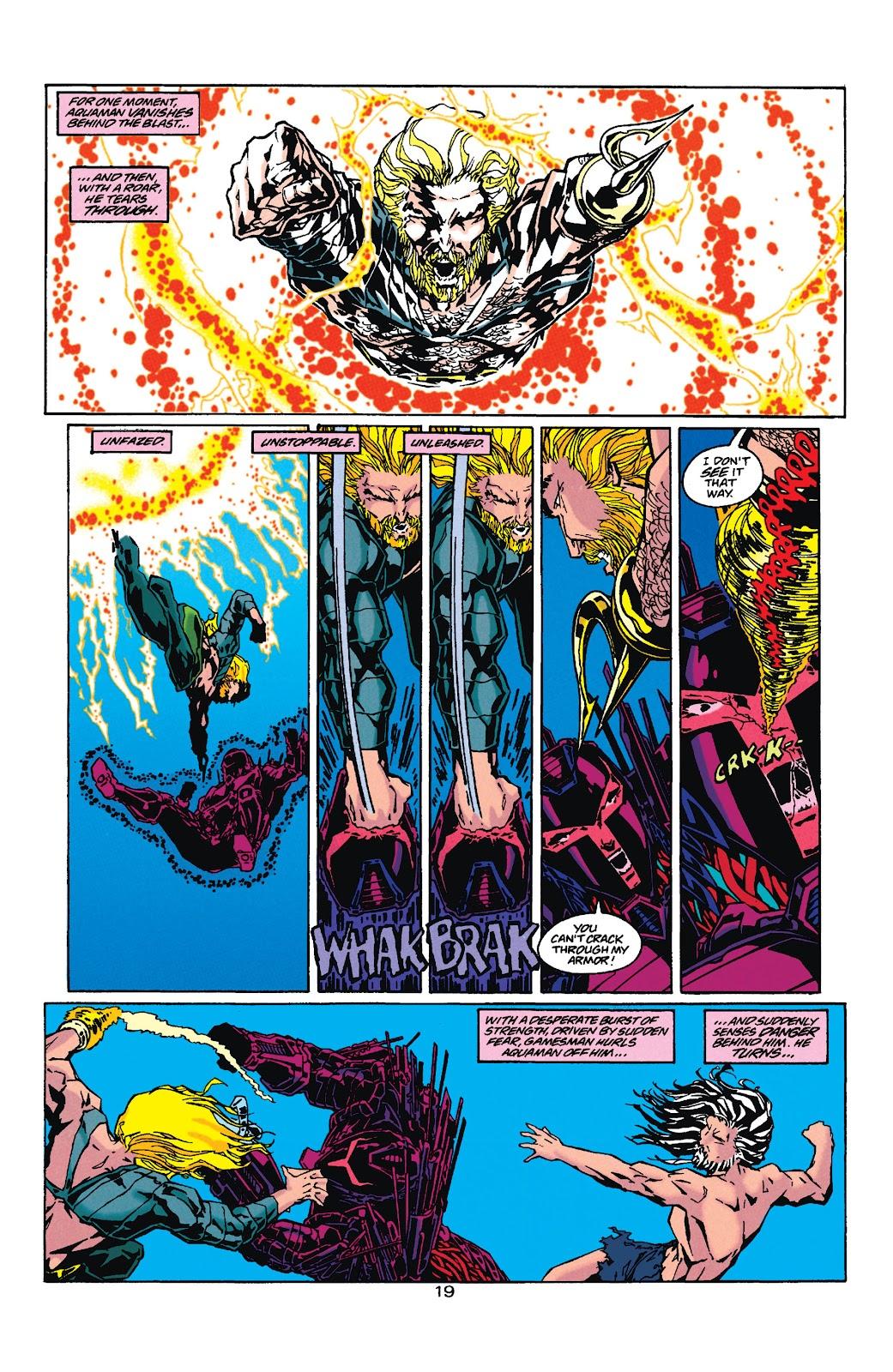 Aquaman (1994) Issue #35 #41 - English 19