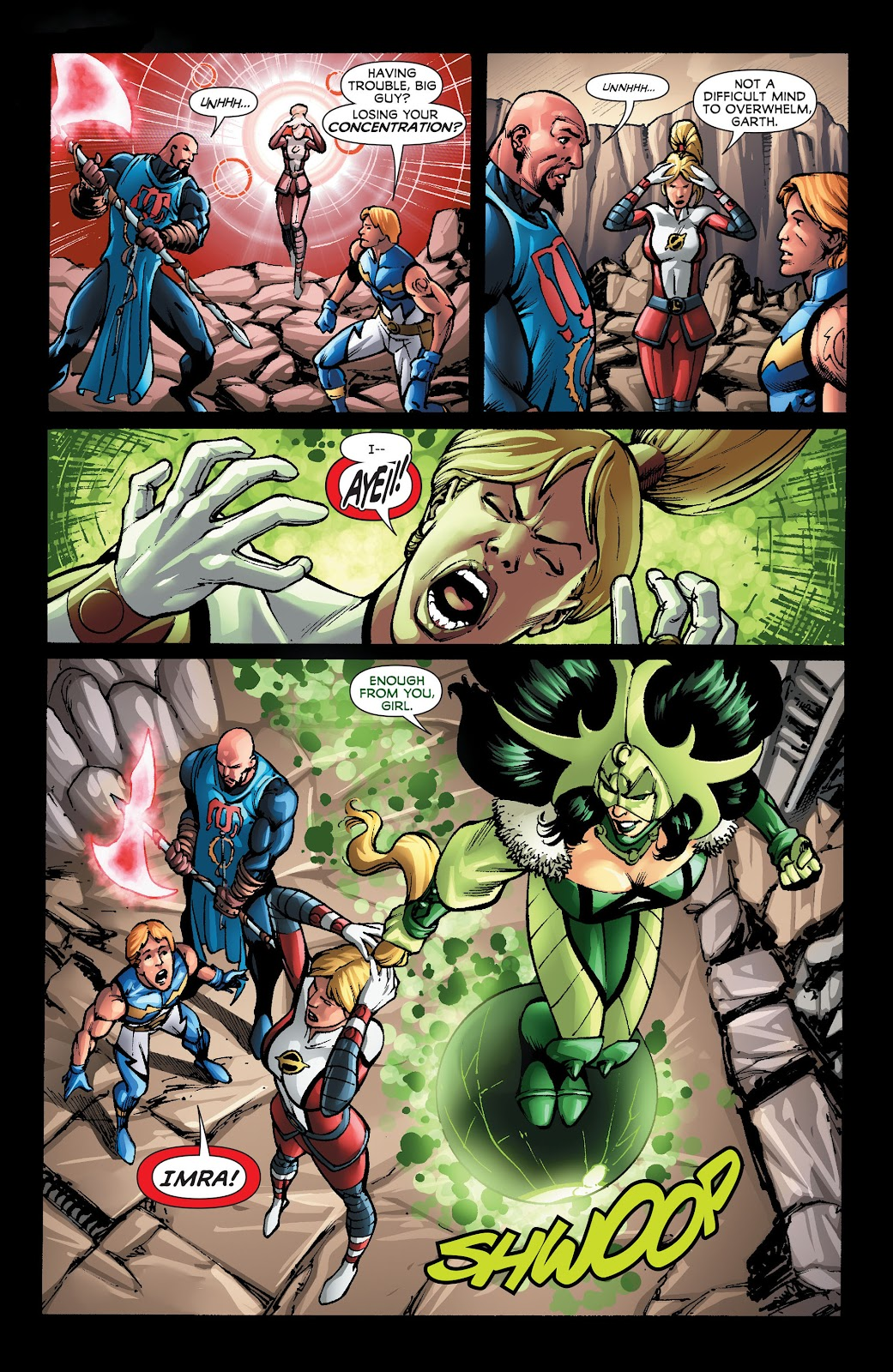 Legion of Super-Heroes (2011) Issue #22 #23 - English 4
