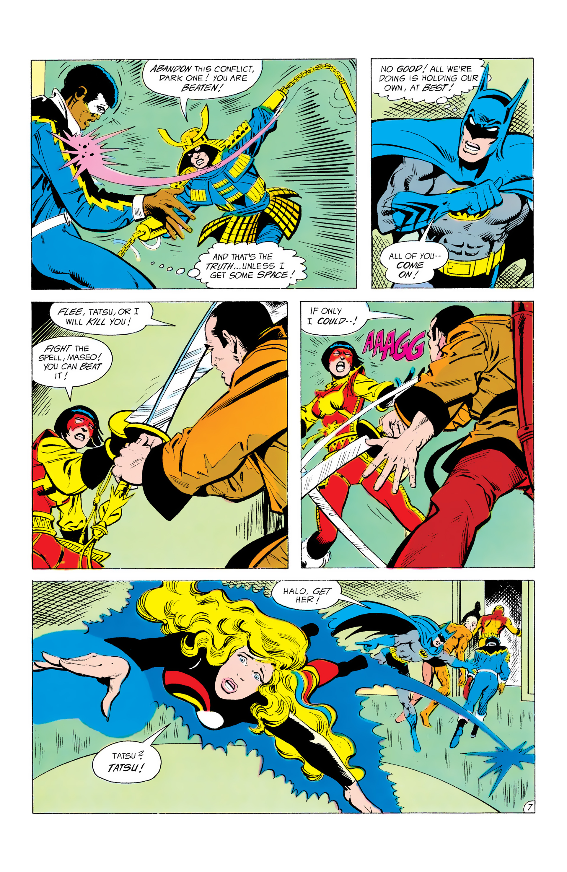 Batman and the Outsiders (1983) 12 Page 7