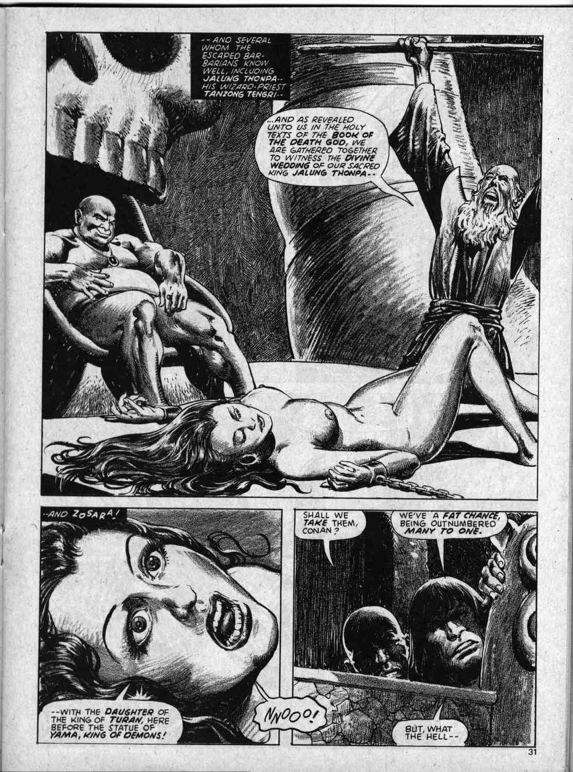 The Savage Sword Of Conan Issue #59 #60 - English 31