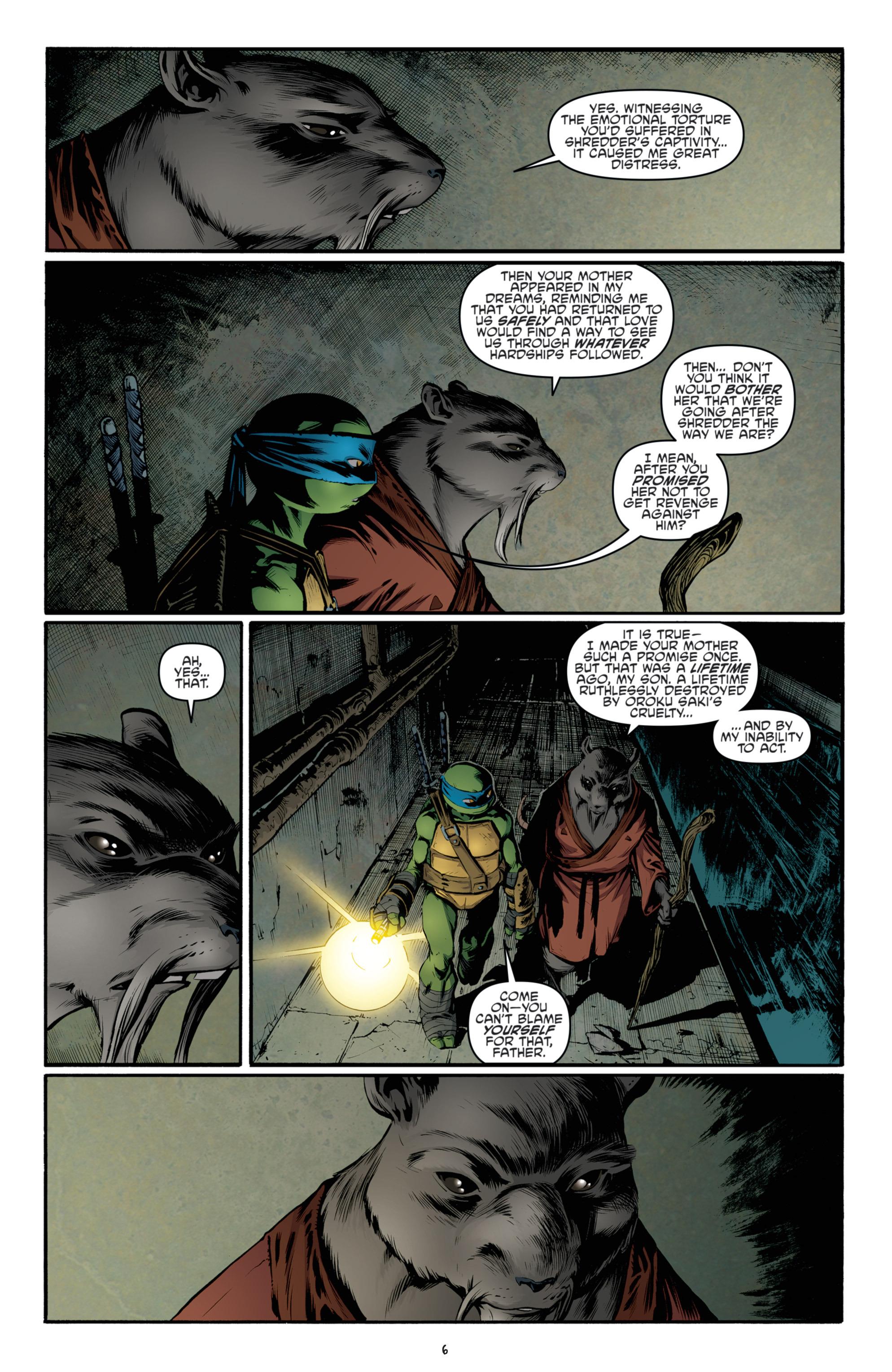 Read online Teenage Mutant Ninja Turtles (2011) comic -  Issue #36 - 9