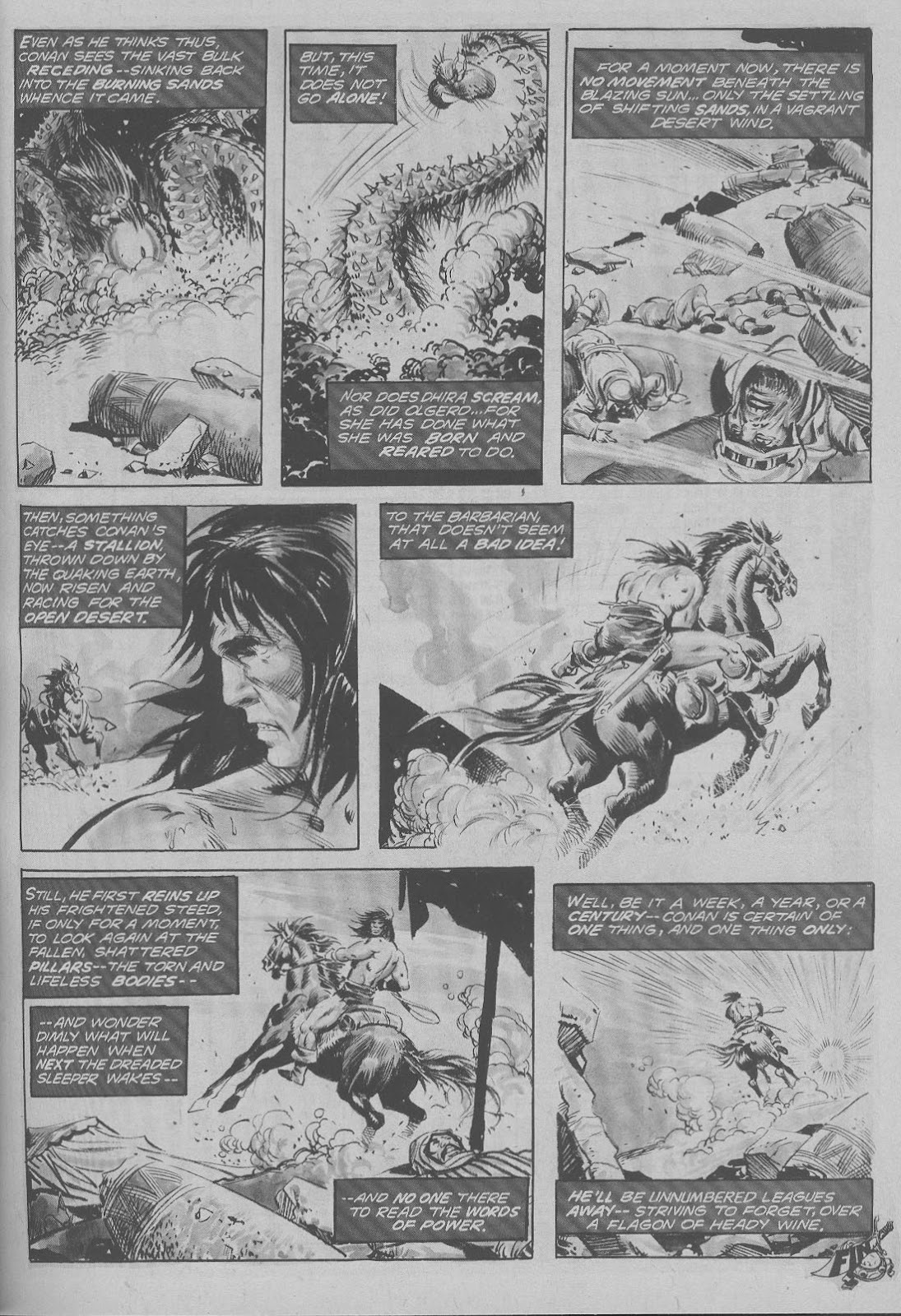 The Savage Sword Of Conan Issue #6 #7 - English 29