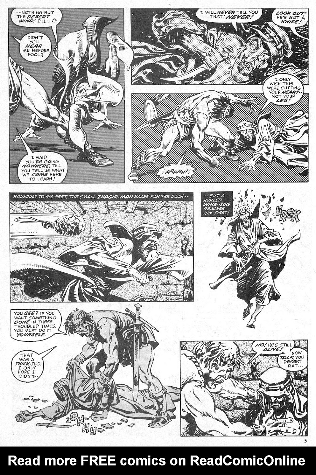 The Savage Sword Of Conan Issue #28 #29 - English 5
