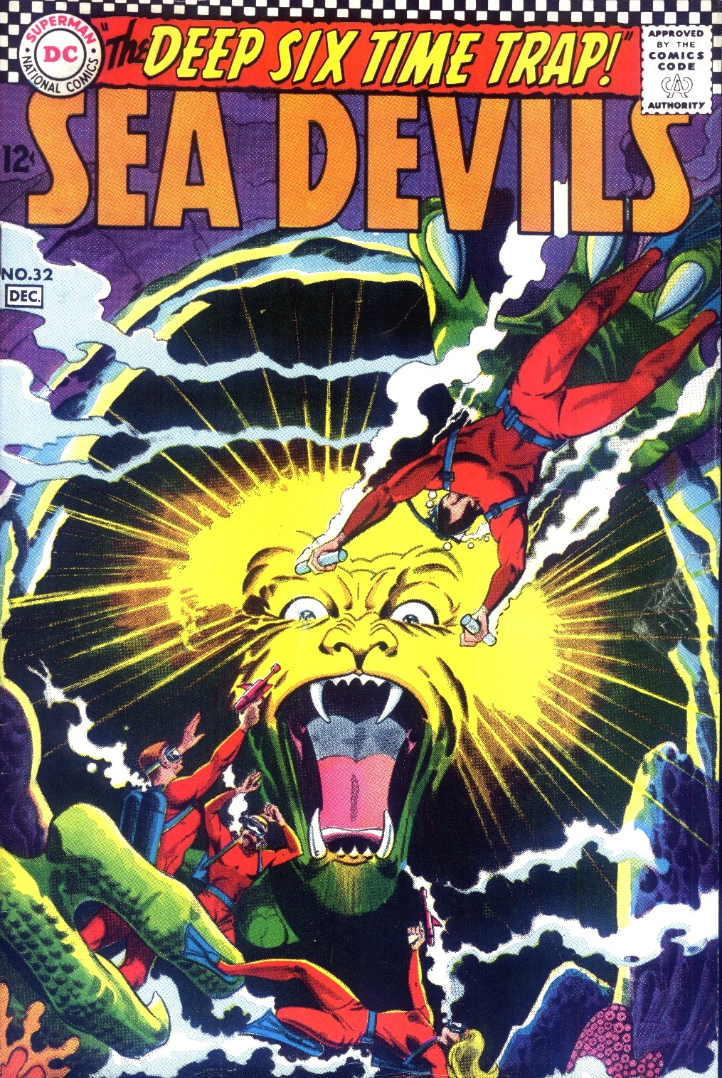 Read online Sea Devils comic -  Issue #32 - 2