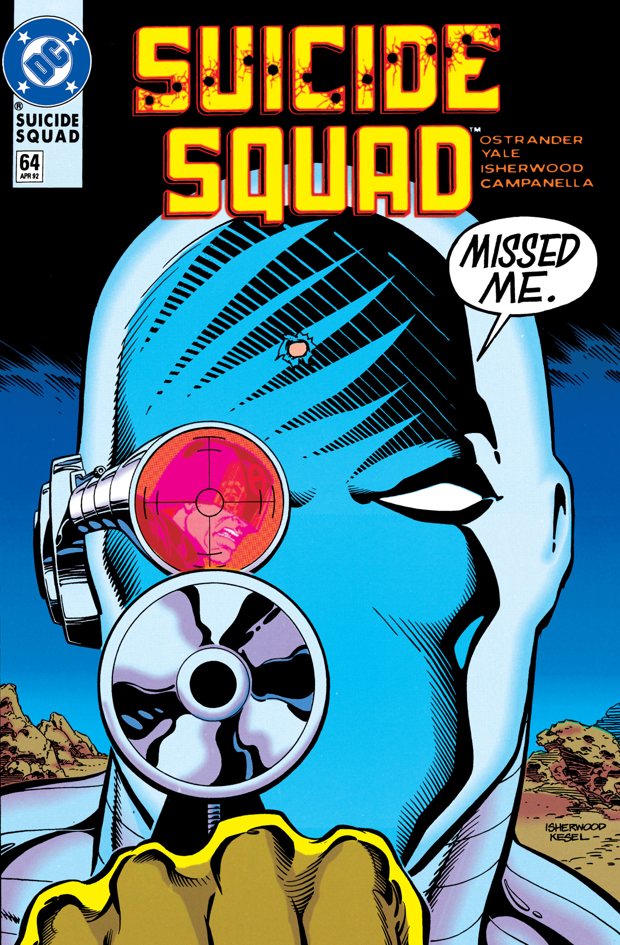 Read online Suicide Squad (1987) comic -  Issue #64 - 1